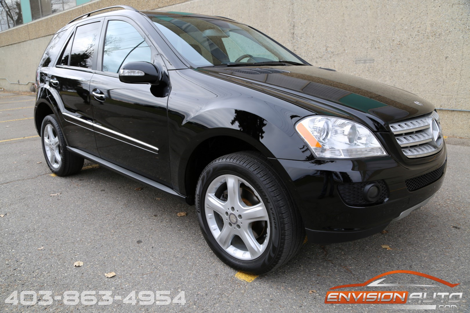 2008 mercedes benz ml350 4matic envision auto calgary for 2008 mercedes benz ml350