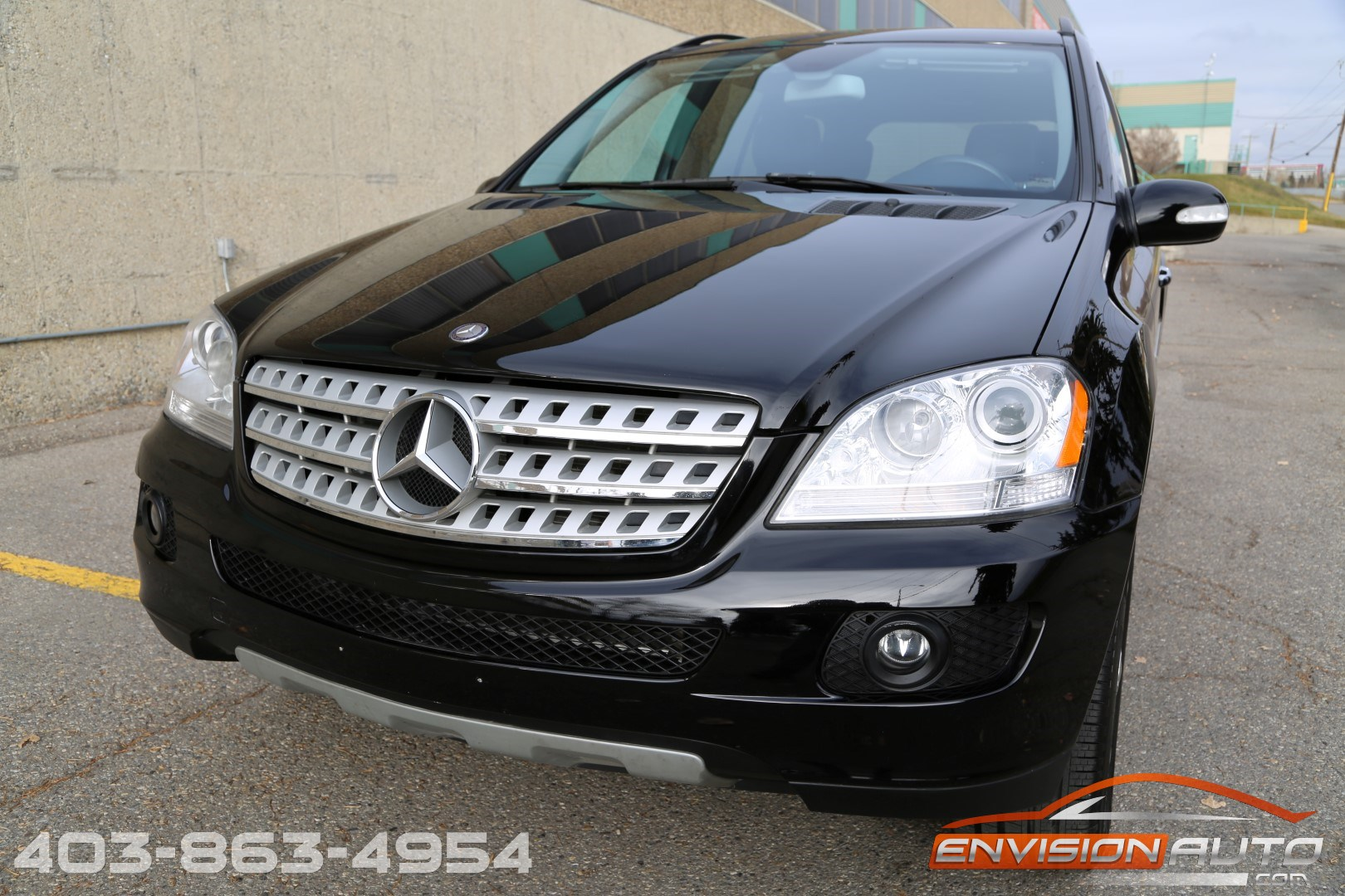 2008 mercedes benz ml350 4matic envision auto calgary. Black Bedroom Furniture Sets. Home Design Ideas
