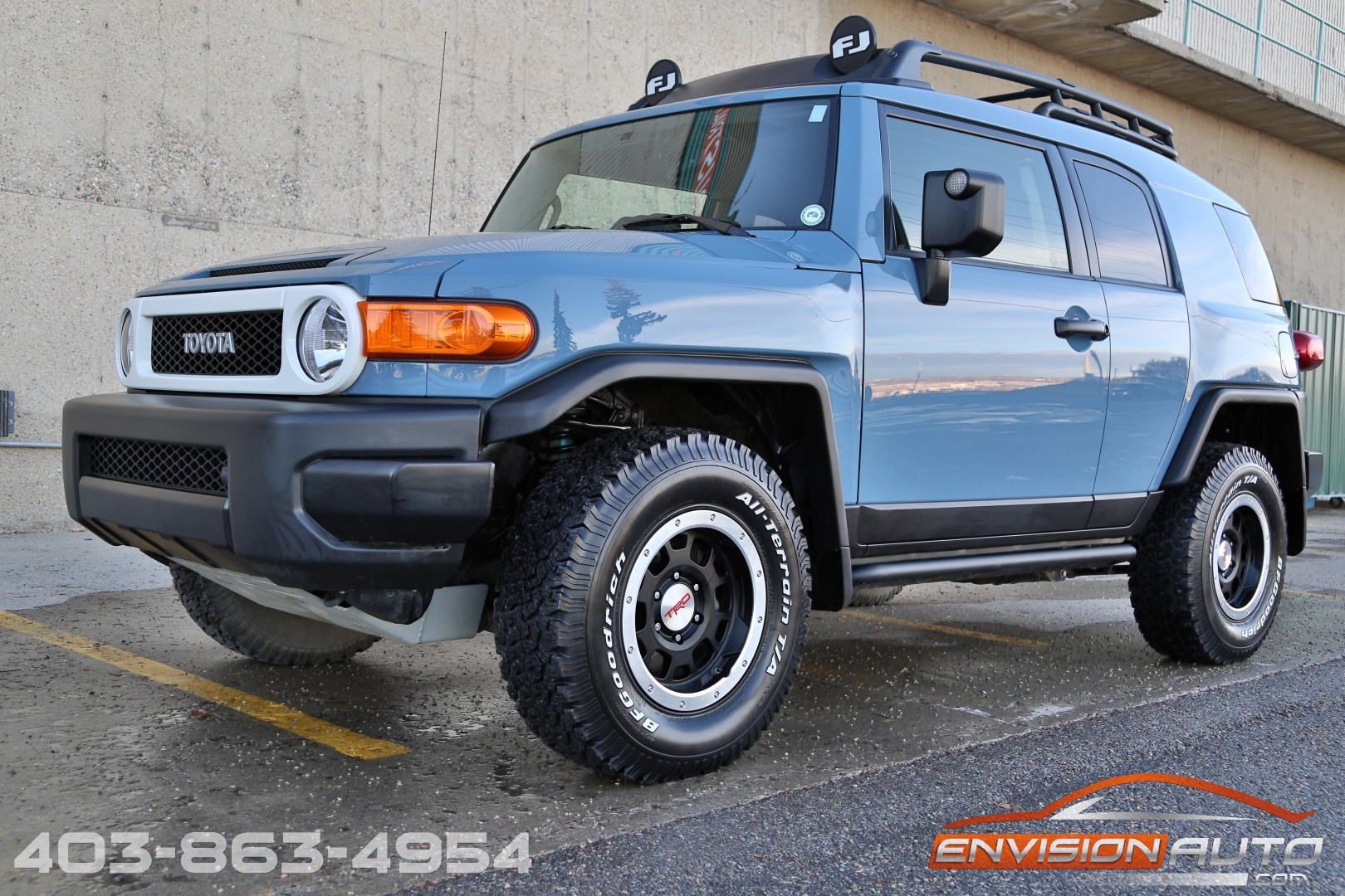 Charming 2014 Toyota FJ Cruiser Trail Teams Ultimate Edition U2013 FINAL YEAR! Vehicle  Specification