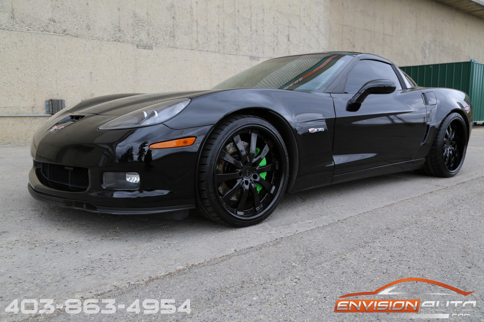 2007 Chevrolet Corvette Z06 – 505HP – Custom Stereo – Wheels | Envision Auto - Calgary Highline