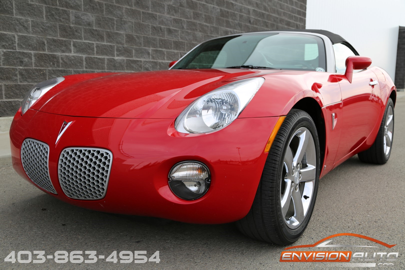 2007 Pontiac Solstice Convertible 1 Calgary Owner Only