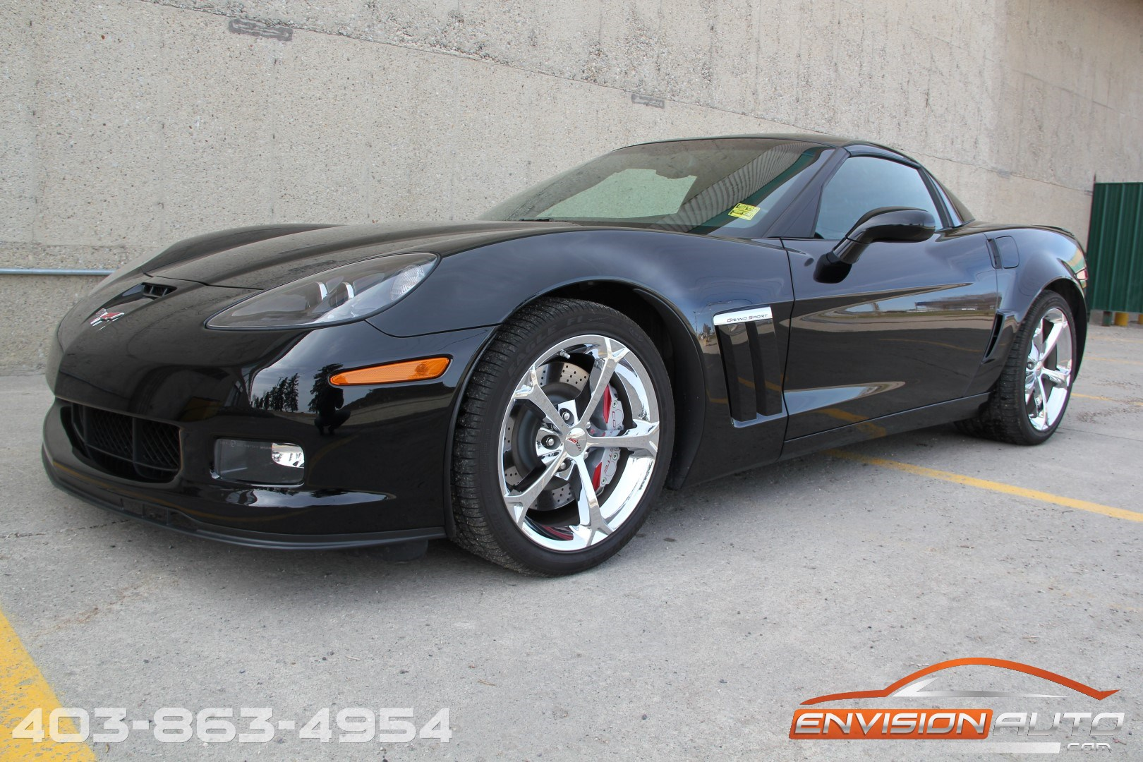 2011 Chevrolet Grand Sport Coupe 2LT Glass Roof Flowmaster 1G1YR2DWXB5107557 1 - 2011 Chevrolet Corvette Grand Sport Coupe 2lt At