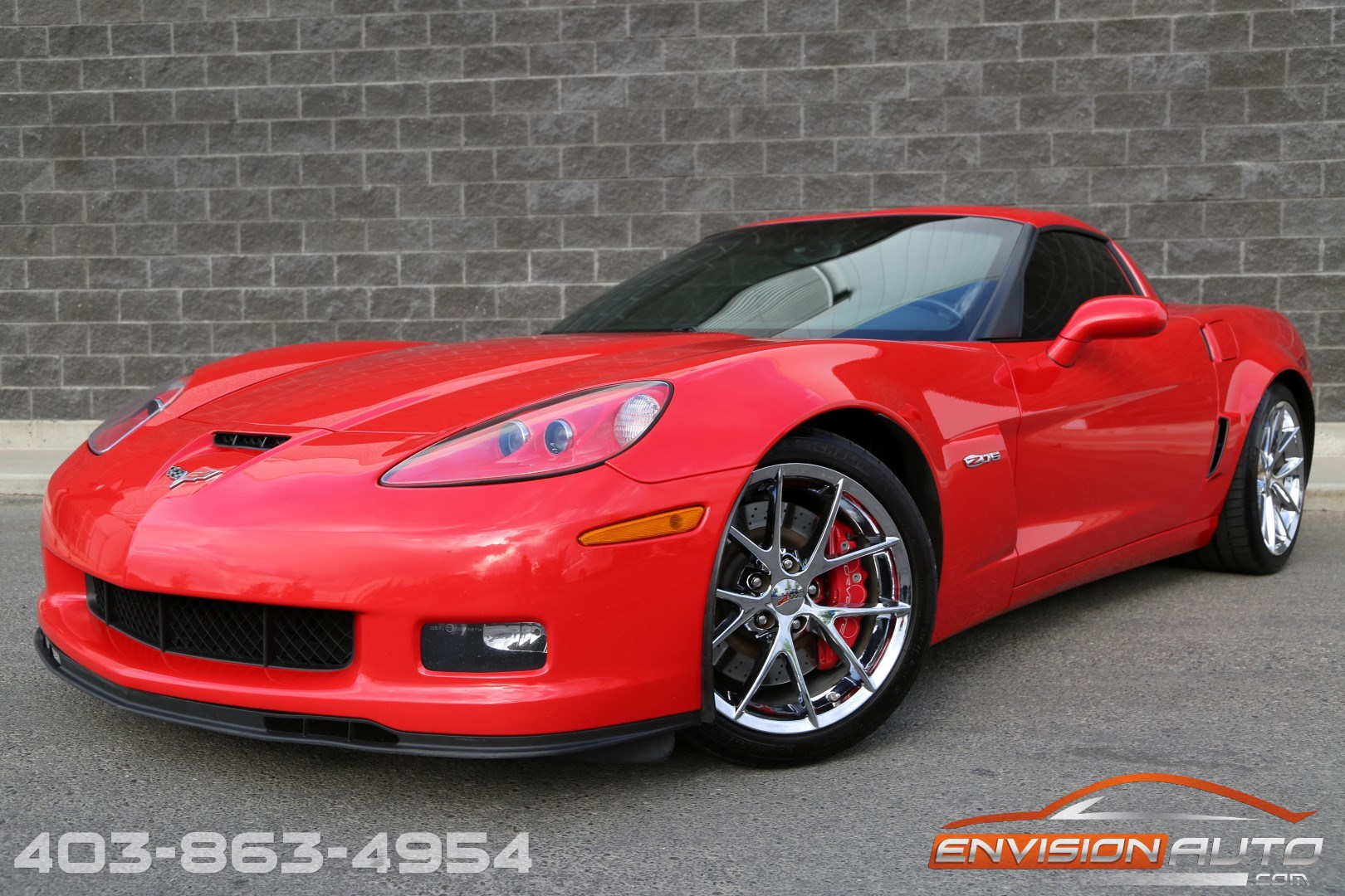 2010 Chevrolet Corvette Z06 505HP – 3LZ – Leather Wrap Interior ...
