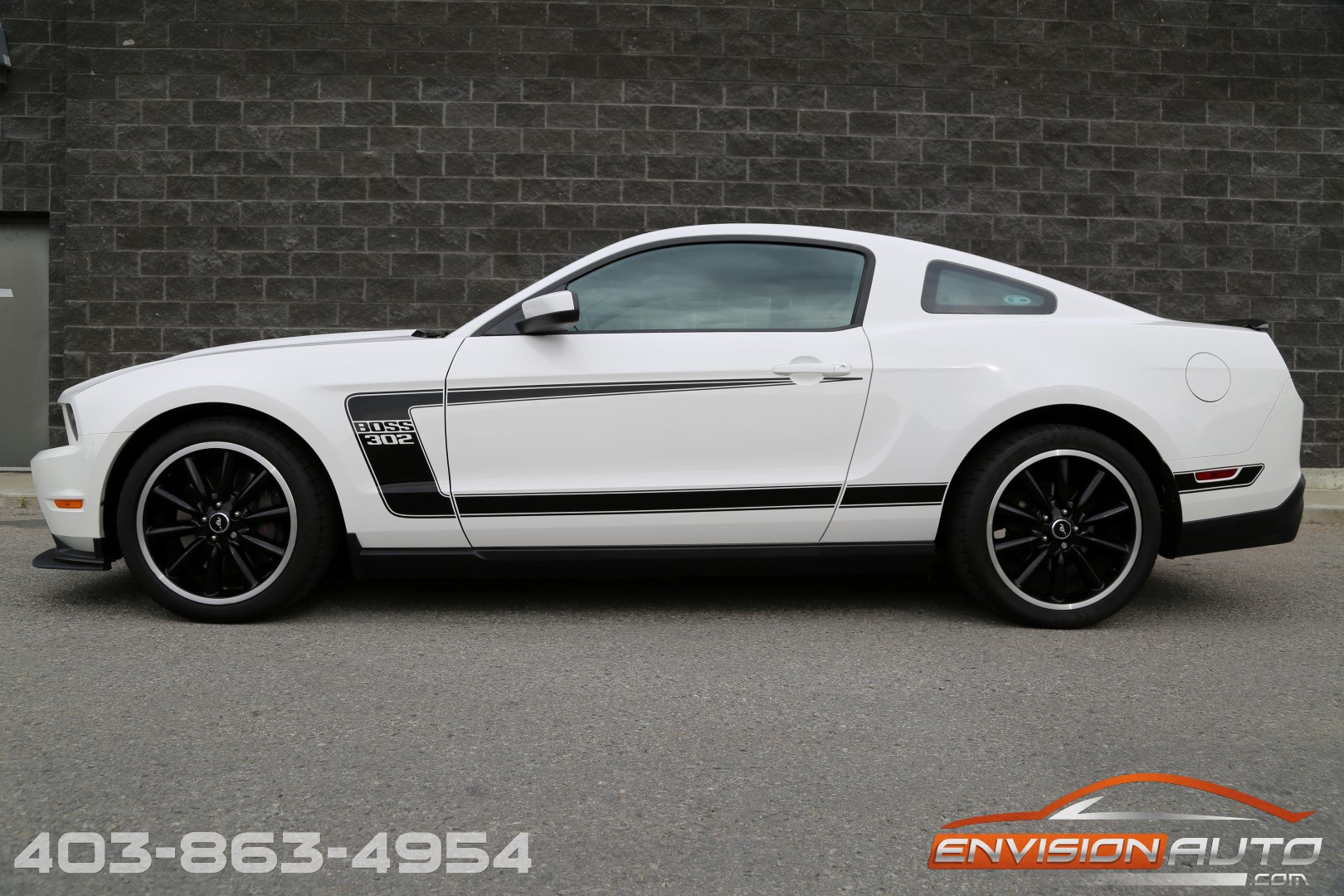 2012 Ford Mustang Boss 302 Keys