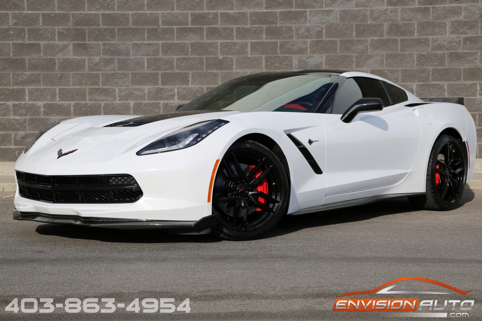 2015 chevrolet corvette stingray 3lt z51 competition seats envision auto. Black Bedroom Furniture Sets. Home Design Ideas