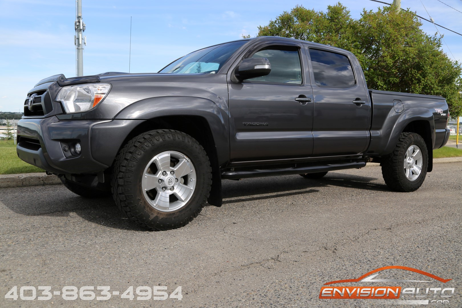 2013 Toyota Tacoma Double Cab 4 215 4 Trd Supercharged