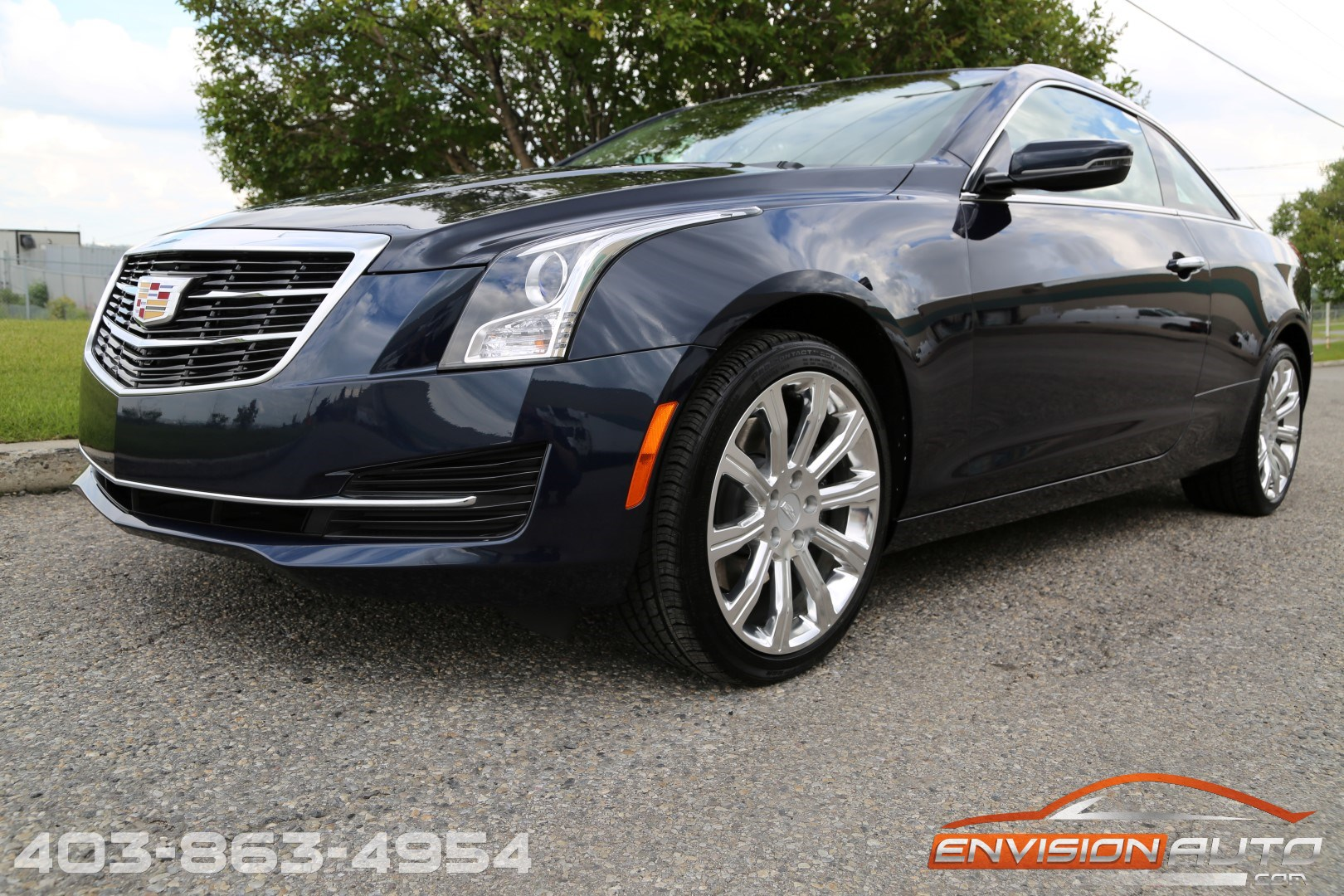 2015 Cadillac ATS4 Coupe – UNDER 5,000KMS – 1 OWNER! - Envision Auto
