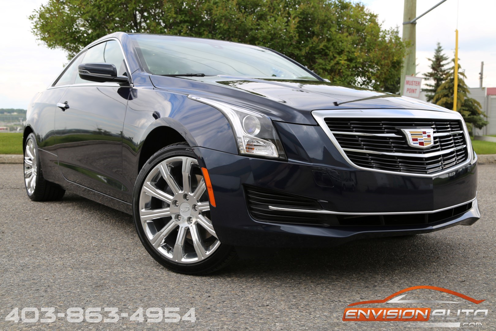 2015 Cadillac ATS4 Coupe – UNDER 5,000KMS – 1 OWNER ...