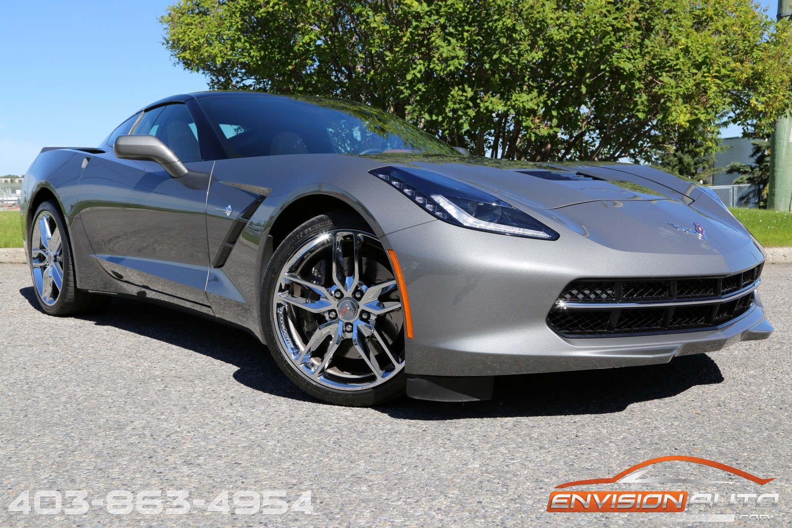 2015 Chevrolet Corvette Stingray 3lt Z51 Glass Targa