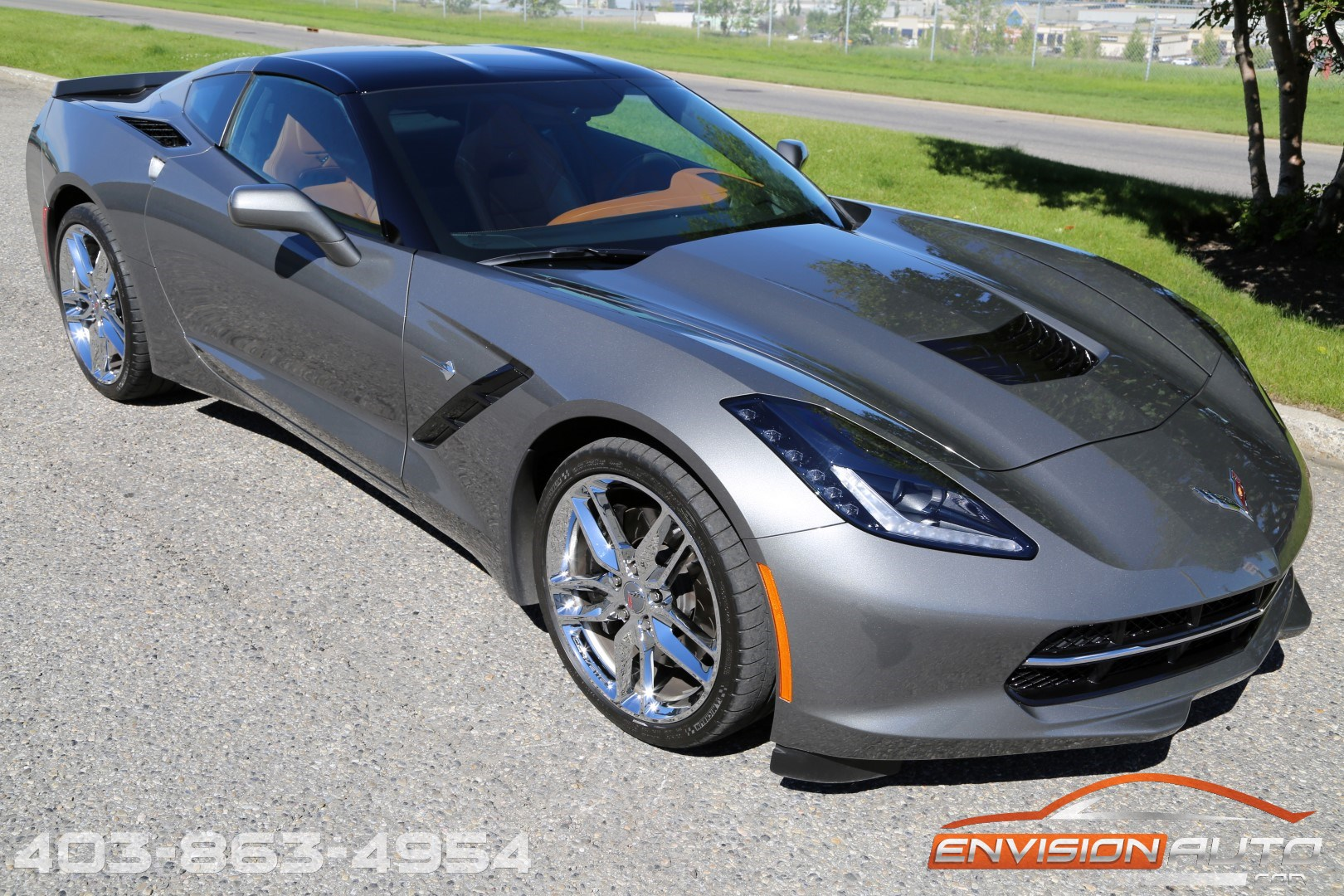 2015 chevrolet corvette stingray 3lt z51 glass targa roof envision auto. Black Bedroom Furniture Sets. Home Design Ideas