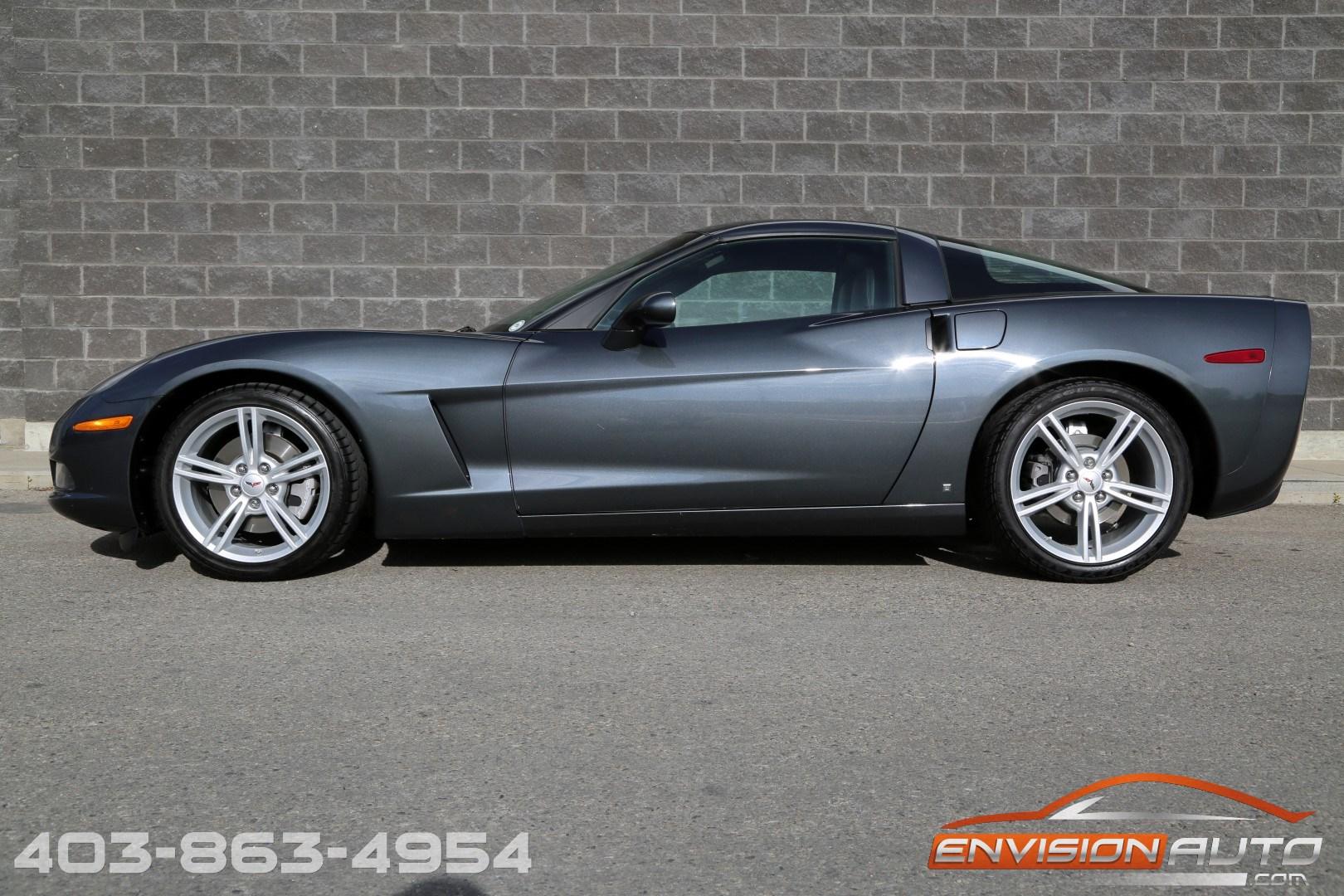 2009 Chevrolet Corvette Coupe 3lt Envision Auto