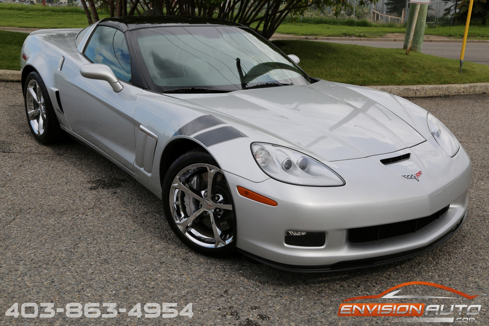 2010 Chevrolet Corvette Grand Sport Coupe 3lt Envision