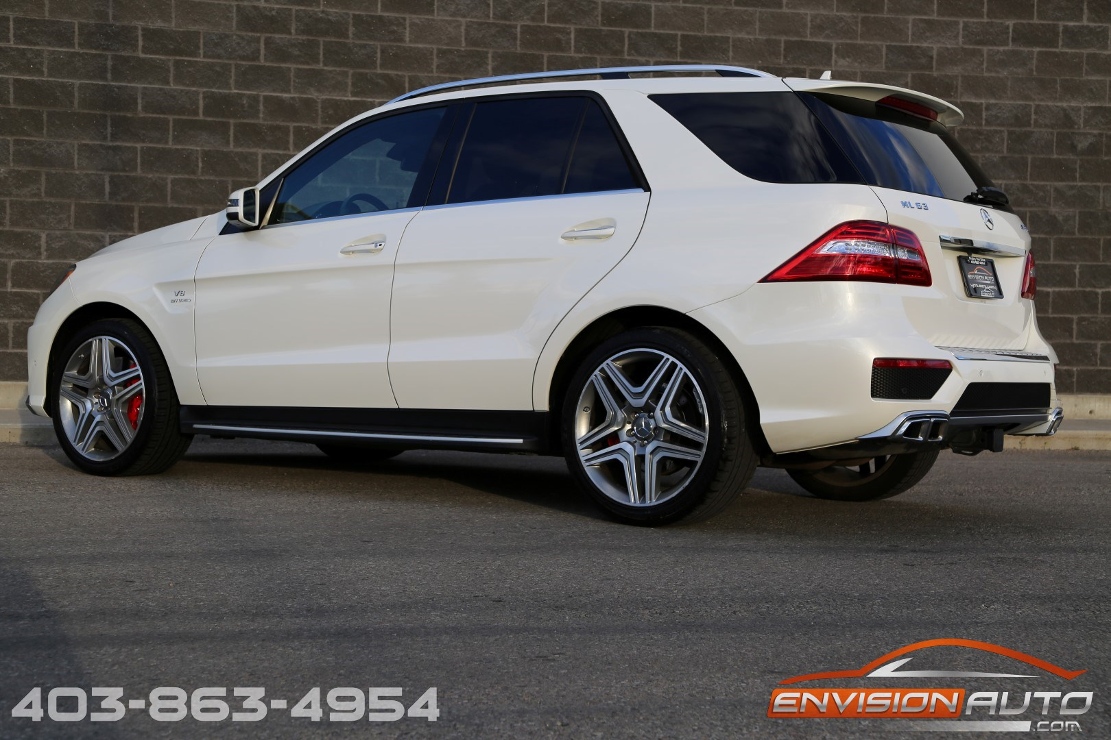 2013 mercedes benz ml63 amg performance designo envision for Performance mercedes benz