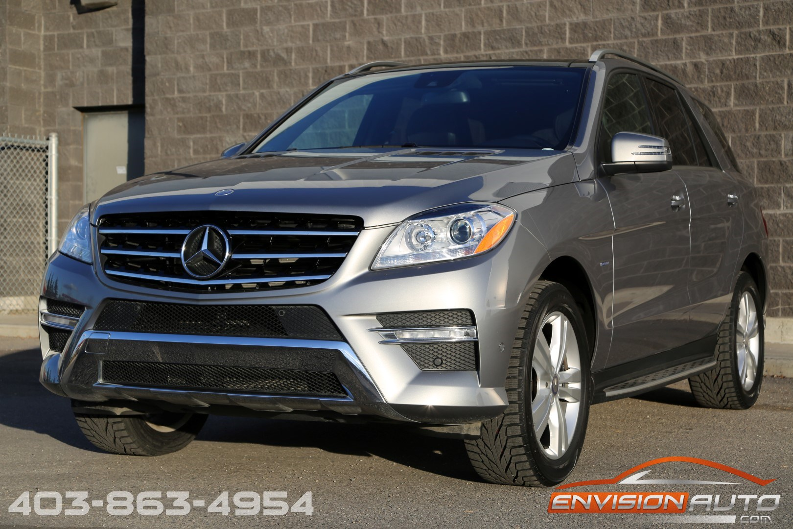 2012 mercedes benz ml350 4matic premium designo envision. Black Bedroom Furniture Sets. Home Design Ideas