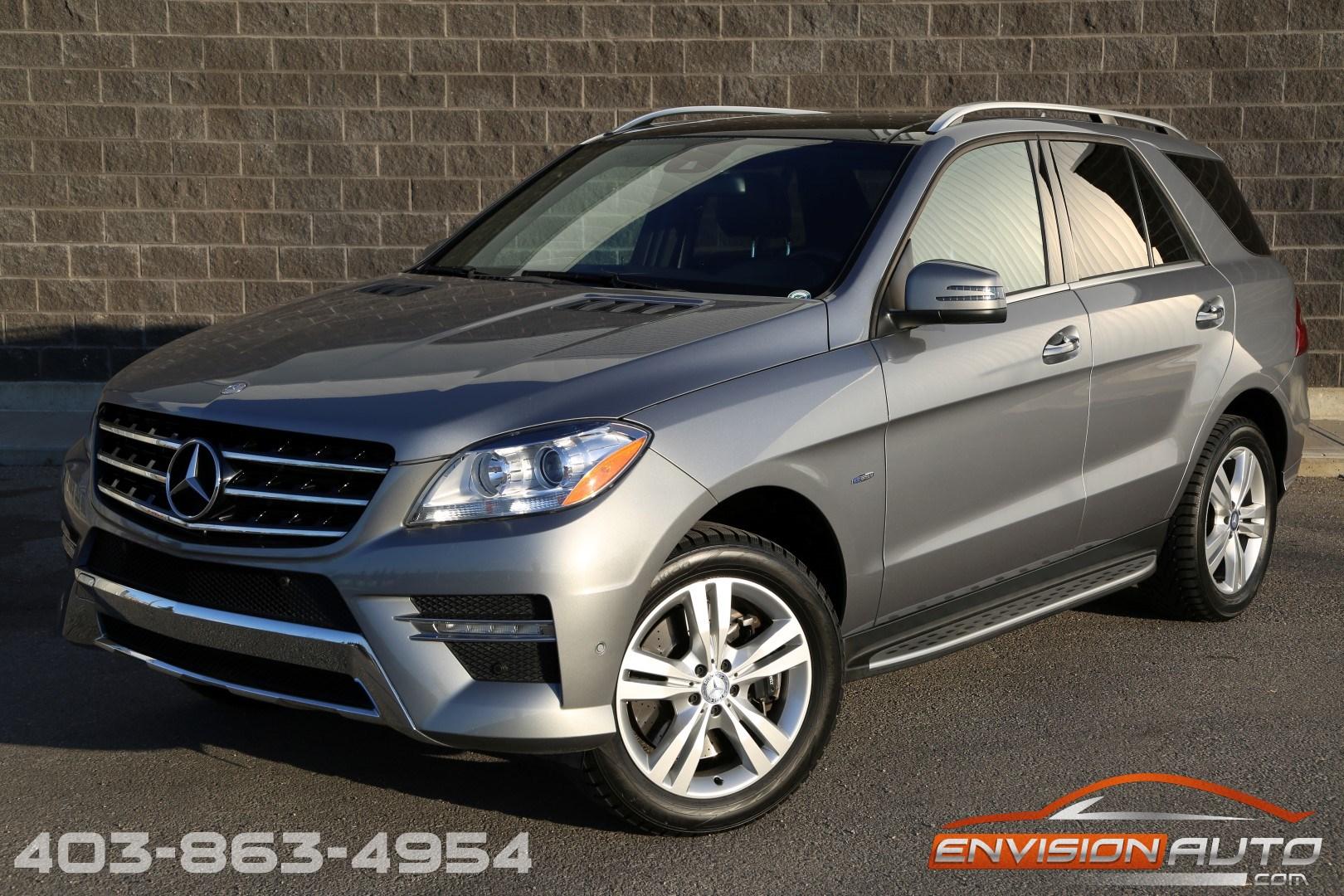 2012 mercedes benz ml350 4matic premium designo envision for Mercedes benz ml350 4matic 2012