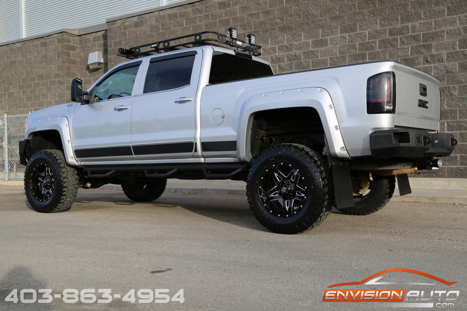 2015 gmc sierra 2500hd slt crew z71 custom show truck envision auto. Black Bedroom Furniture Sets. Home Design Ideas