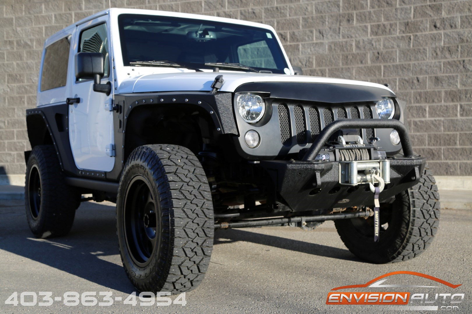 2015 jeep wrangler rubicon lifted custom only 20kms envision auto calgary highline. Black Bedroom Furniture Sets. Home Design Ideas