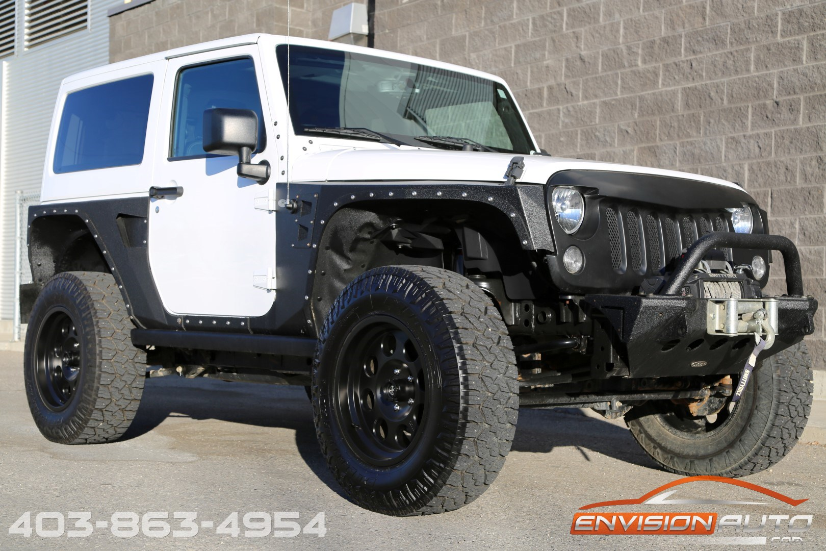2015 jeep wrangler rubicon lifted custom only 20kms envision auto. Black Bedroom Furniture Sets. Home Design Ideas