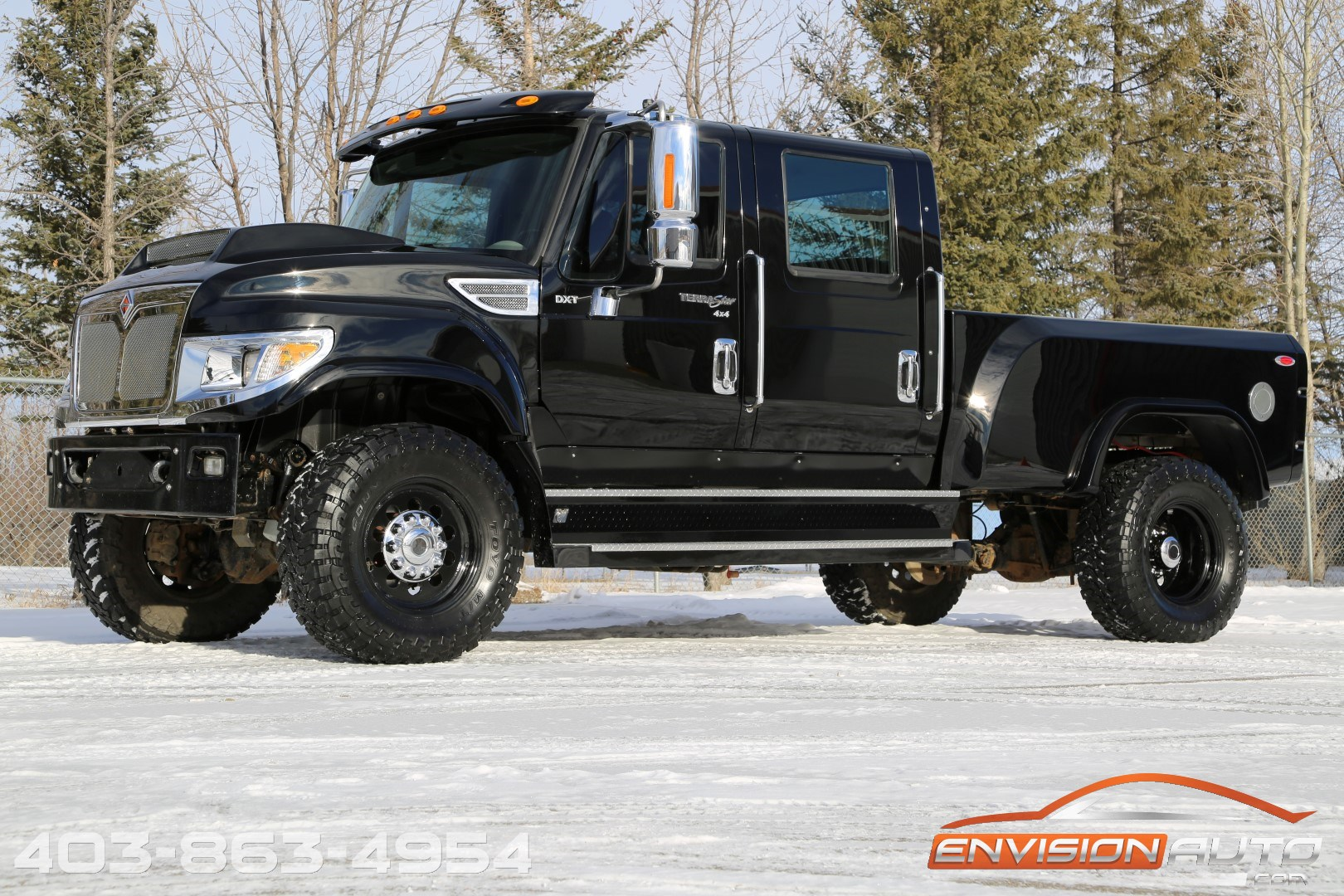 International Crew Cab Hauler Youtube 2014 International Terrastar 4×4 DXT – – Custom Showtruck ...