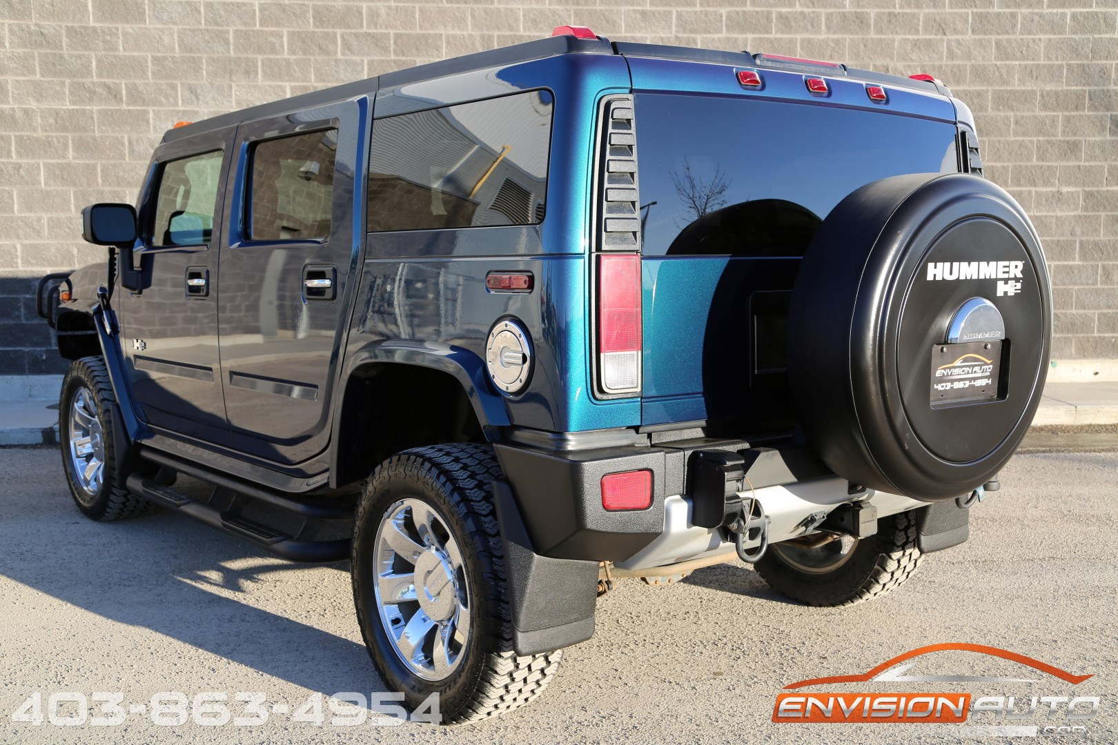 2008 H2 Hummer SUV Limited Edition Ultra Marine – Air Ride – Navi – DVD  Vehicle Specification