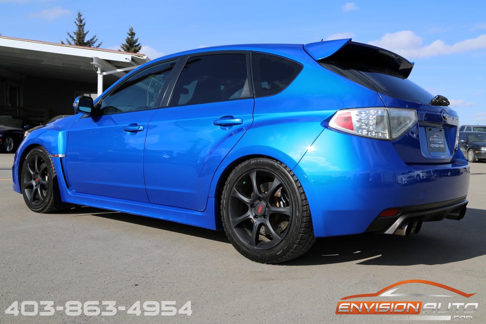 2010 Subaru Impreza Wrx Sti Custom Built Engine Only 90kms Envision Auto Calgary