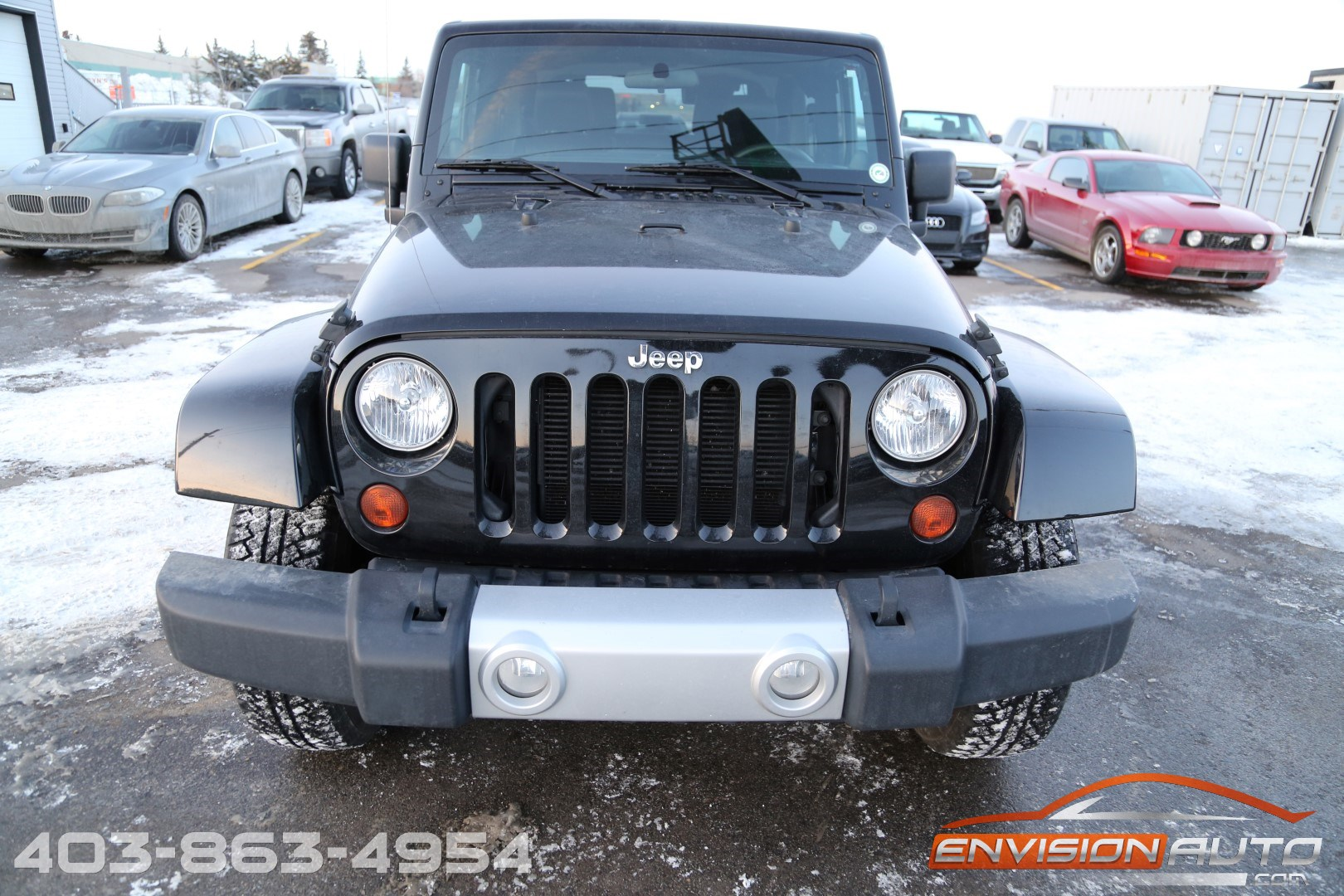 2012 jeep wrangler sahara 4 4 2 door only 43k kms envision auto calgary highline luxury. Black Bedroom Furniture Sets. Home Design Ideas