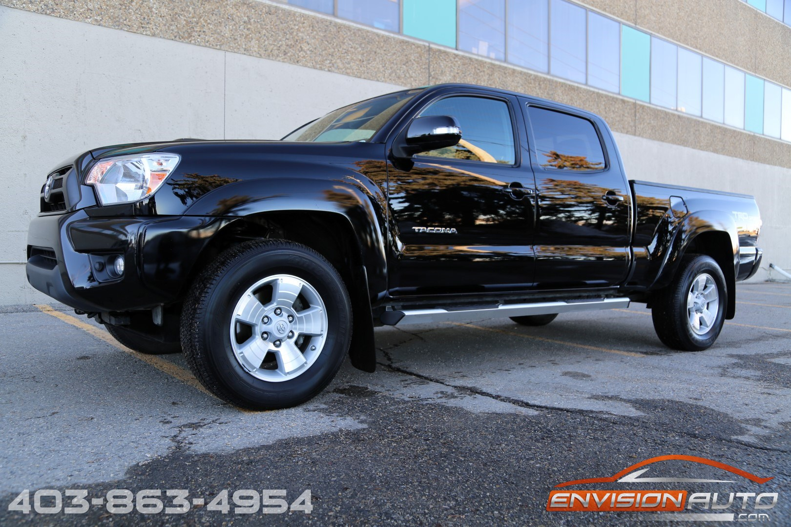 2014 toyota tacoma v6 trd sport double cab long box 4wd envision auto. Black Bedroom Furniture Sets. Home Design Ideas