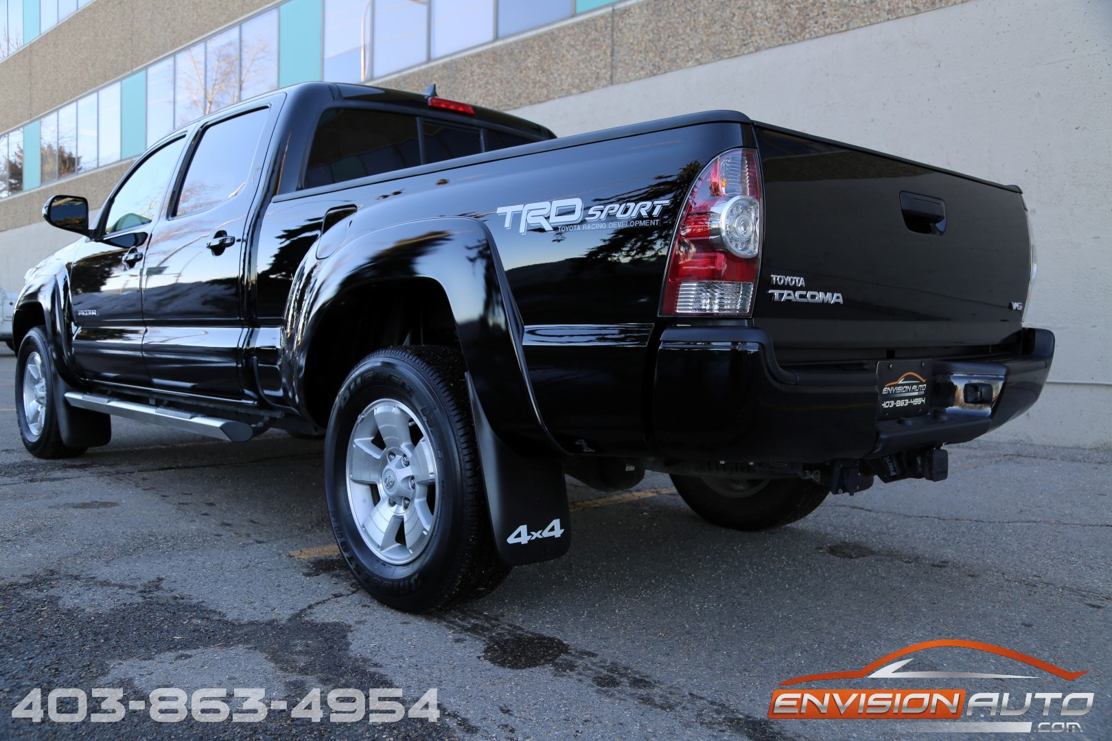 2014 toyota tacoma v6 trd sport double cab long box 4wd envision auto calgary highline. Black Bedroom Furniture Sets. Home Design Ideas