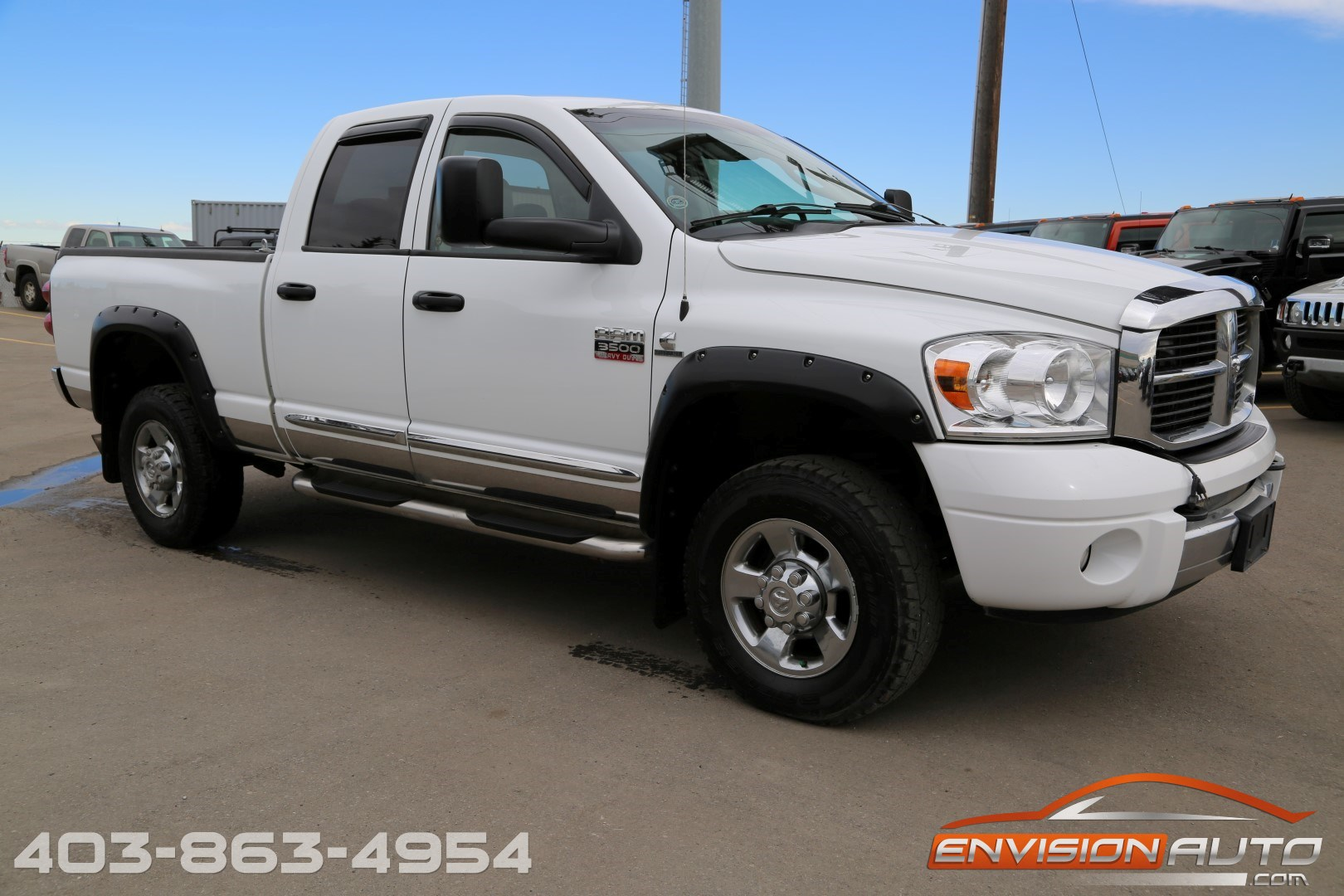 2007 dodge ram 3500hd laramie quad cab 4 4 5 9l cummins diesel envision auto calgary. Black Bedroom Furniture Sets. Home Design Ideas