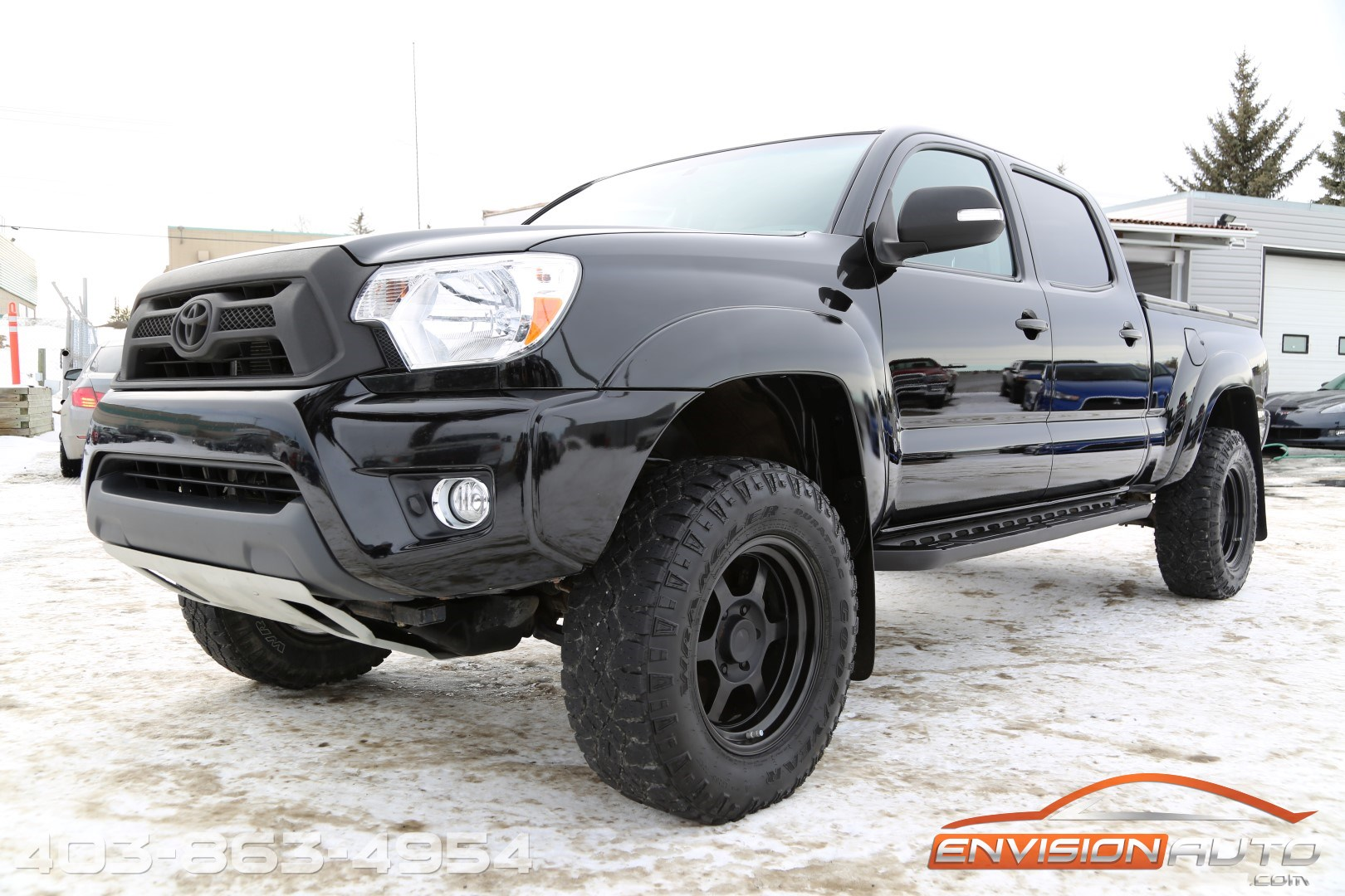 2013 toyota tacoma trd sport supercharged double cab long bed 4 4 envision auto. Black Bedroom Furniture Sets. Home Design Ideas