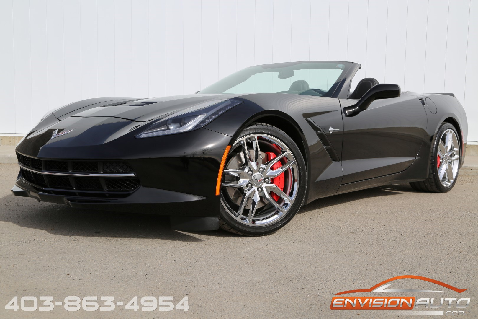 2015 chevrolet corvette stingray convertible 3lt z51 envision auto. Black Bedroom Furniture Sets. Home Design Ideas