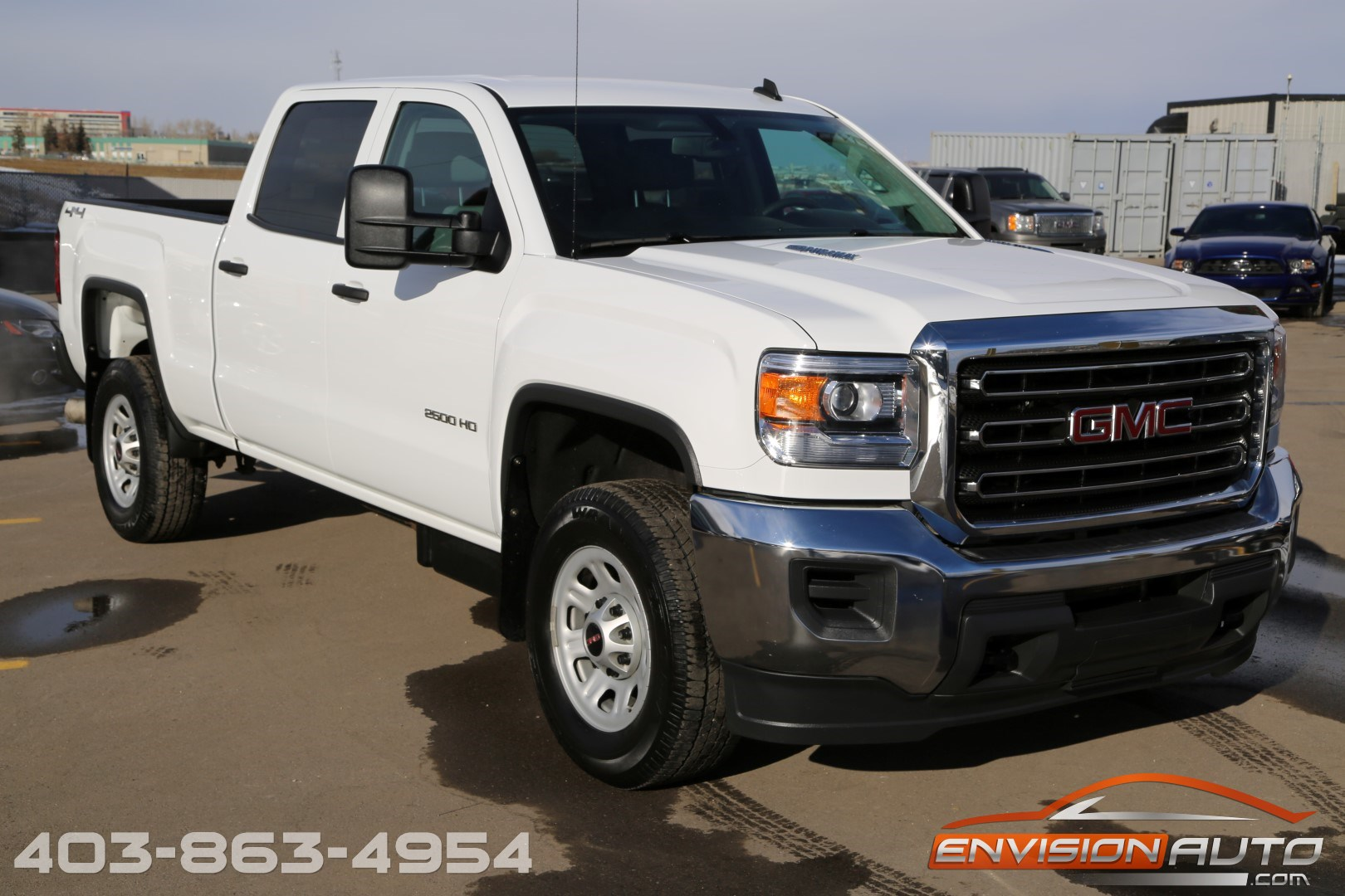 2015 gmc sierra 2500hd crew 4 4 6 6l duramax envision auto. Black Bedroom Furniture Sets. Home Design Ideas