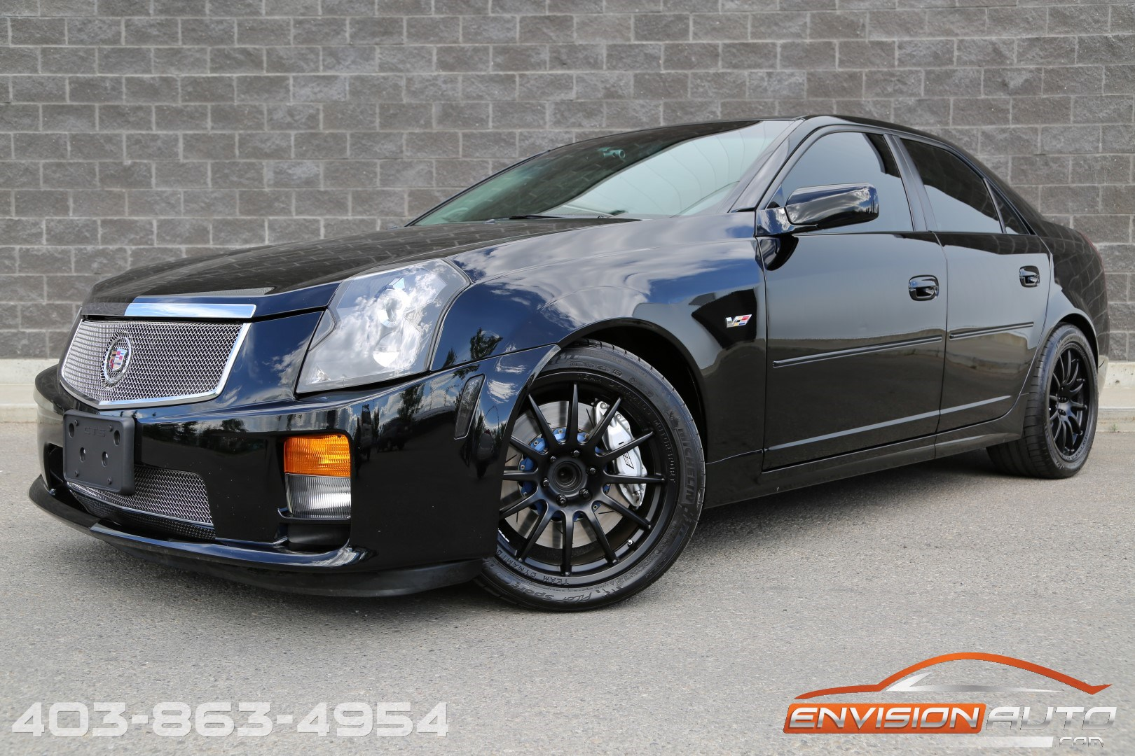 2005 Cadillac CTS-V Sedan – 6 Speed Manual – 470 RWHP!! | Envision Auto - Calgary Highline ...