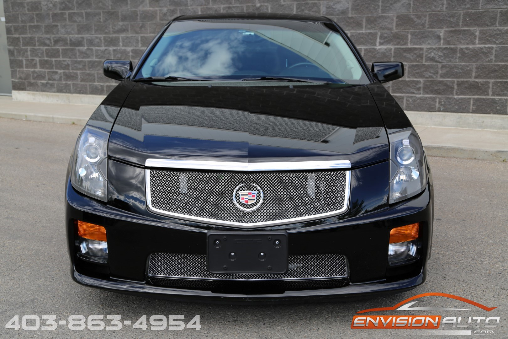 2005 cadillac cts v sedan 6 speed manual 470 rwhp envision auto calgary highline. Black Bedroom Furniture Sets. Home Design Ideas