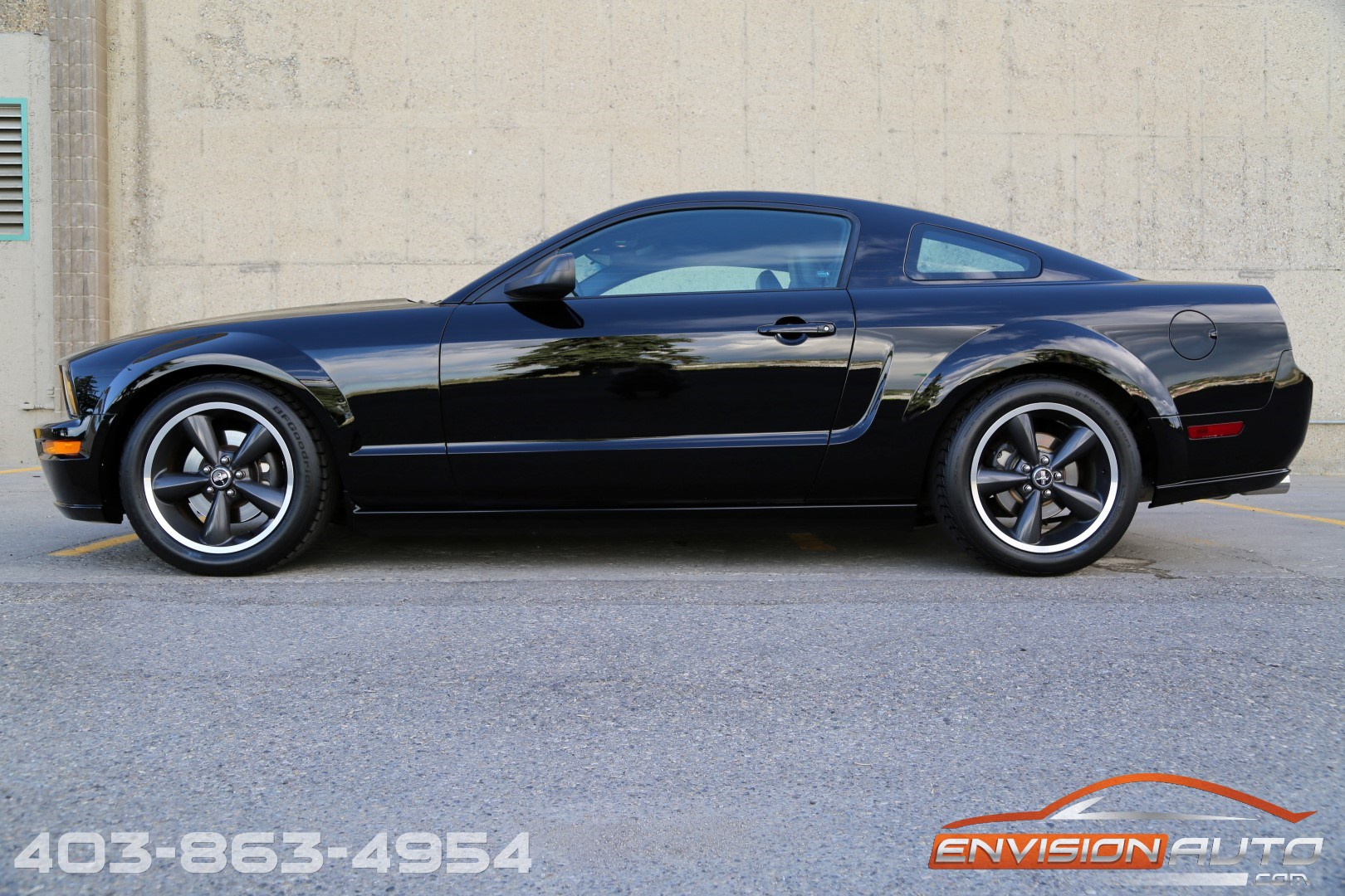 2008 ford mustang gt bullitt only 47 700kms black edition envision auto calgary highline. Black Bedroom Furniture Sets. Home Design Ideas