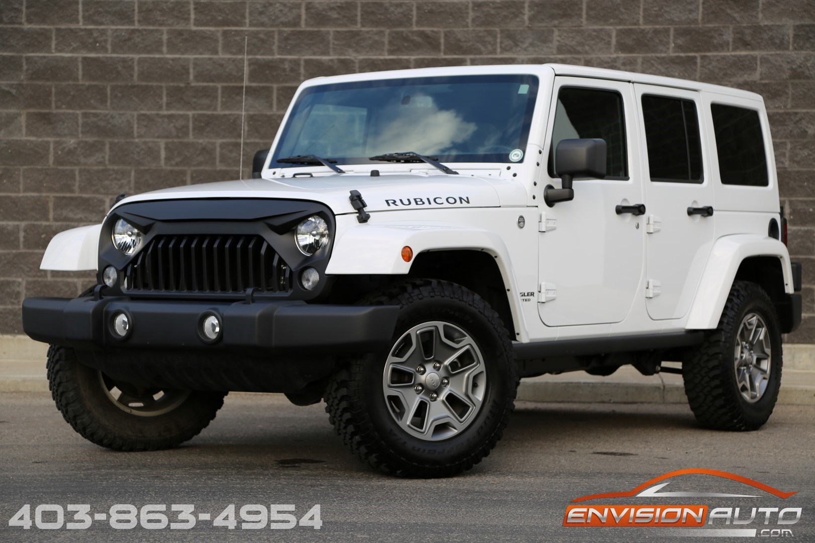 2015 jeep wrangler unlimited rubicon 6 speed manual spotless history envision auto. Black Bedroom Furniture Sets. Home Design Ideas