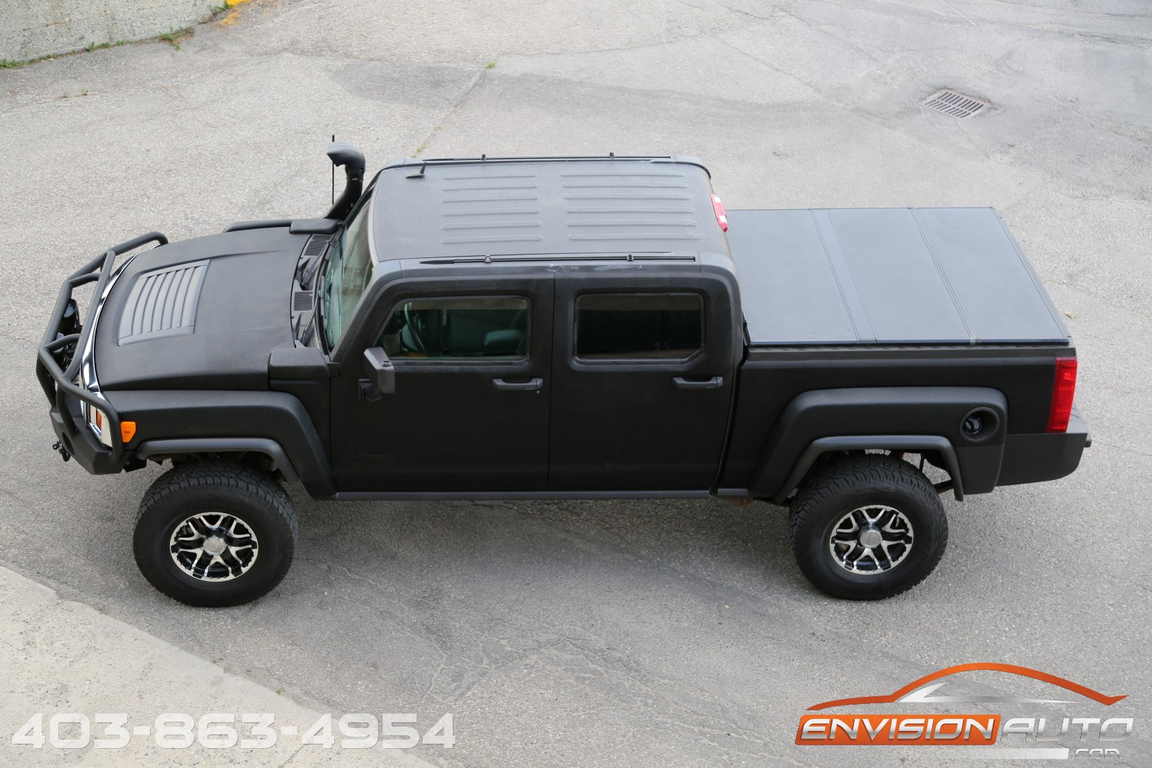 Jeep Lift Kit >> 2009 Hummer H3T Truck – Offroad Package – Lifted – 5 Speed Manual | Envision Auto - Calgary ...