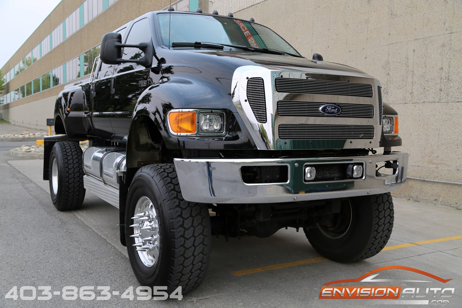 2008 ford f 650 xlt superduty crew cab 4 x 4 custom. Black Bedroom Furniture Sets. Home Design Ideas