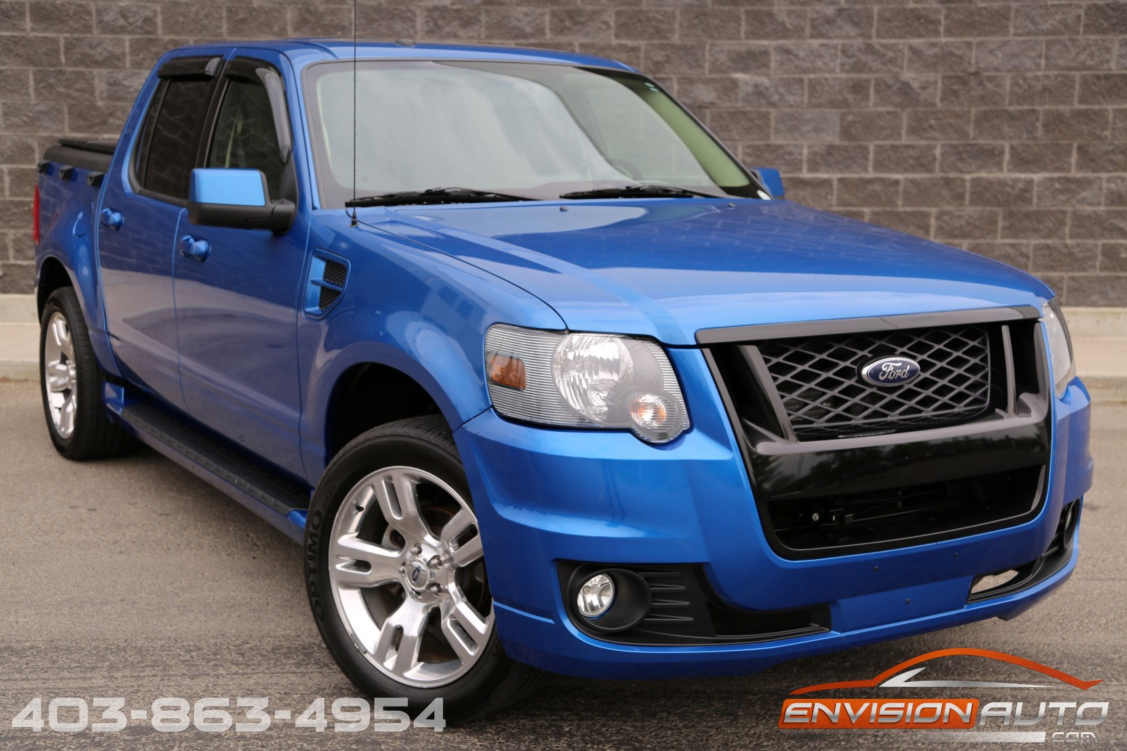2010 Ford Sport Trac Adrenalin Awd One Owner Envision Auto Calgary Highline Luxury Sports