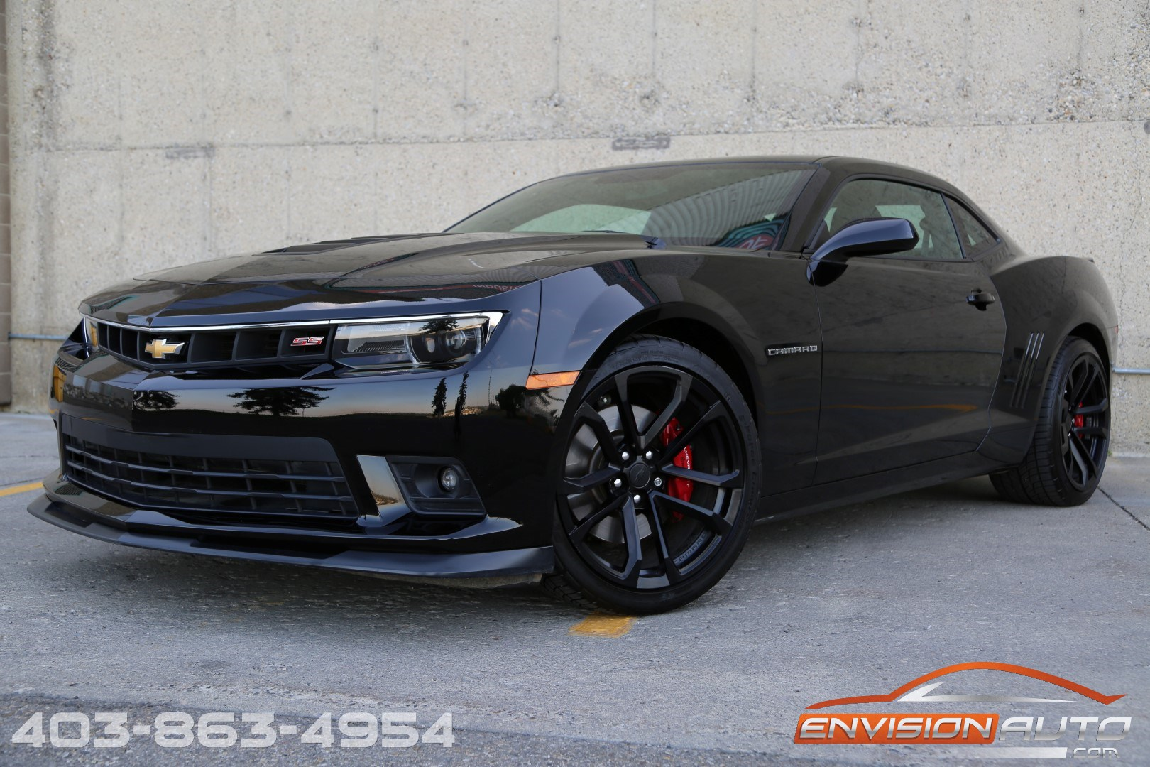 2015 chevrolet camaro ss 2ss rs 1le track pkg recaro seats envision auto. Black Bedroom Furniture Sets. Home Design Ideas
