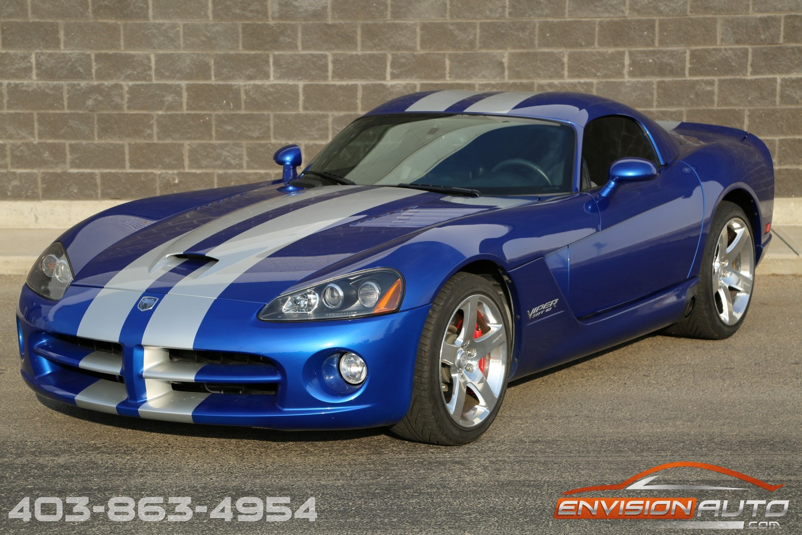 2006 dodge viper srt 10 coupe local alberta car only 19 500kms envision auto calgary. Black Bedroom Furniture Sets. Home Design Ideas