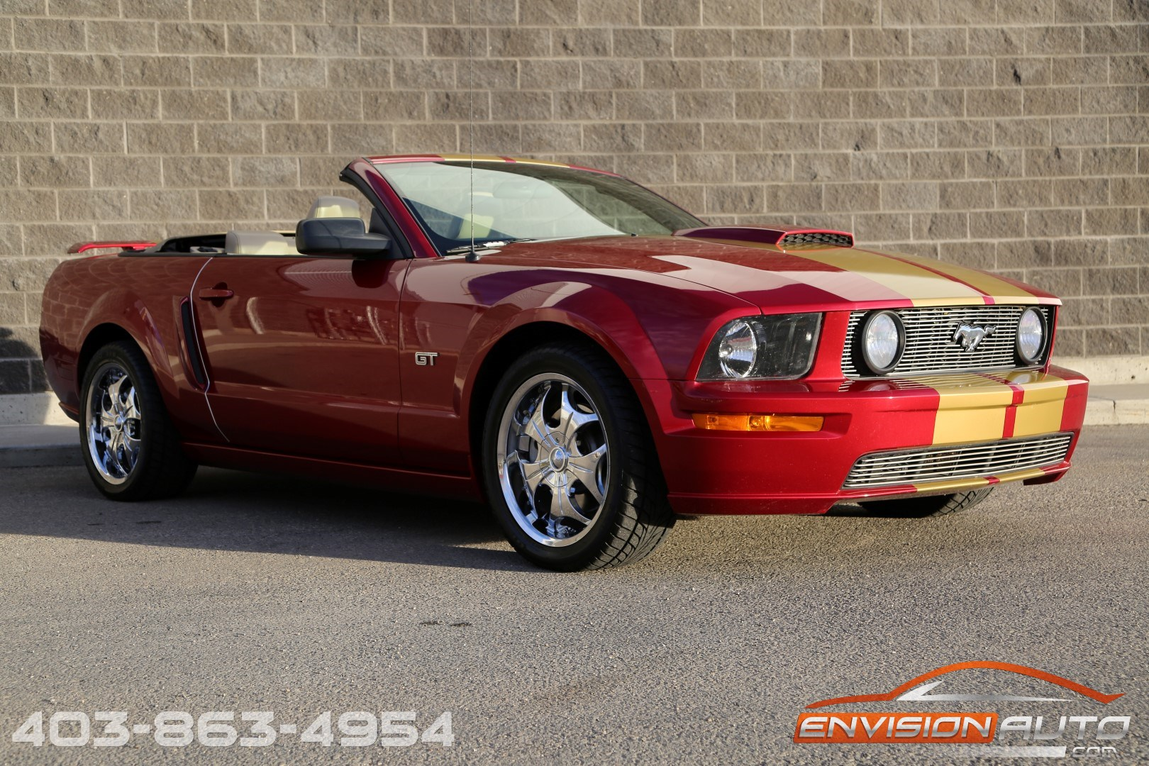 ford mustang gt convertible  speed manual envision