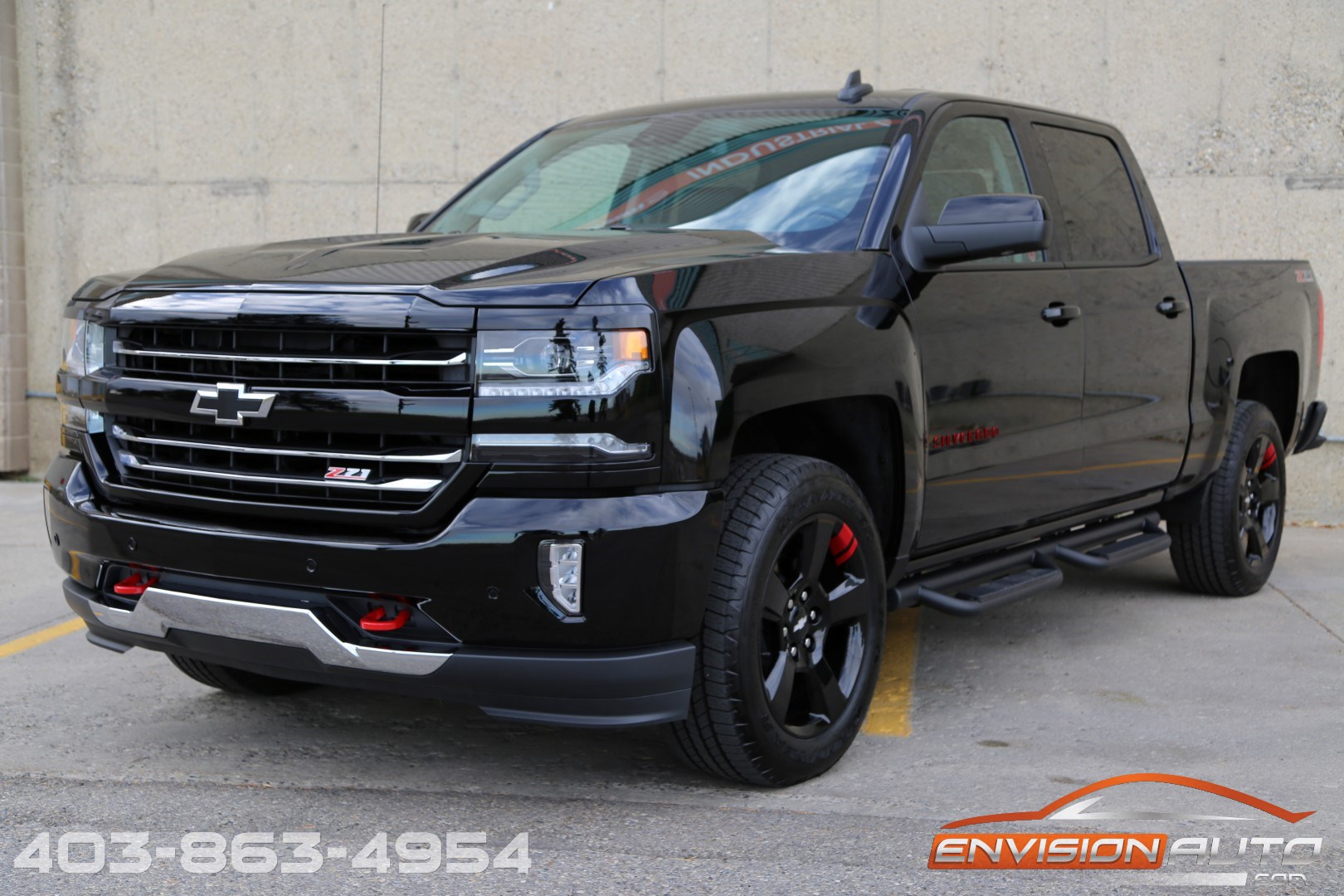 2017 chevrolet silverado 1500 ltz redline edition ltz plus 2lz z71 envision auto calgary. Black Bedroom Furniture Sets. Home Design Ideas