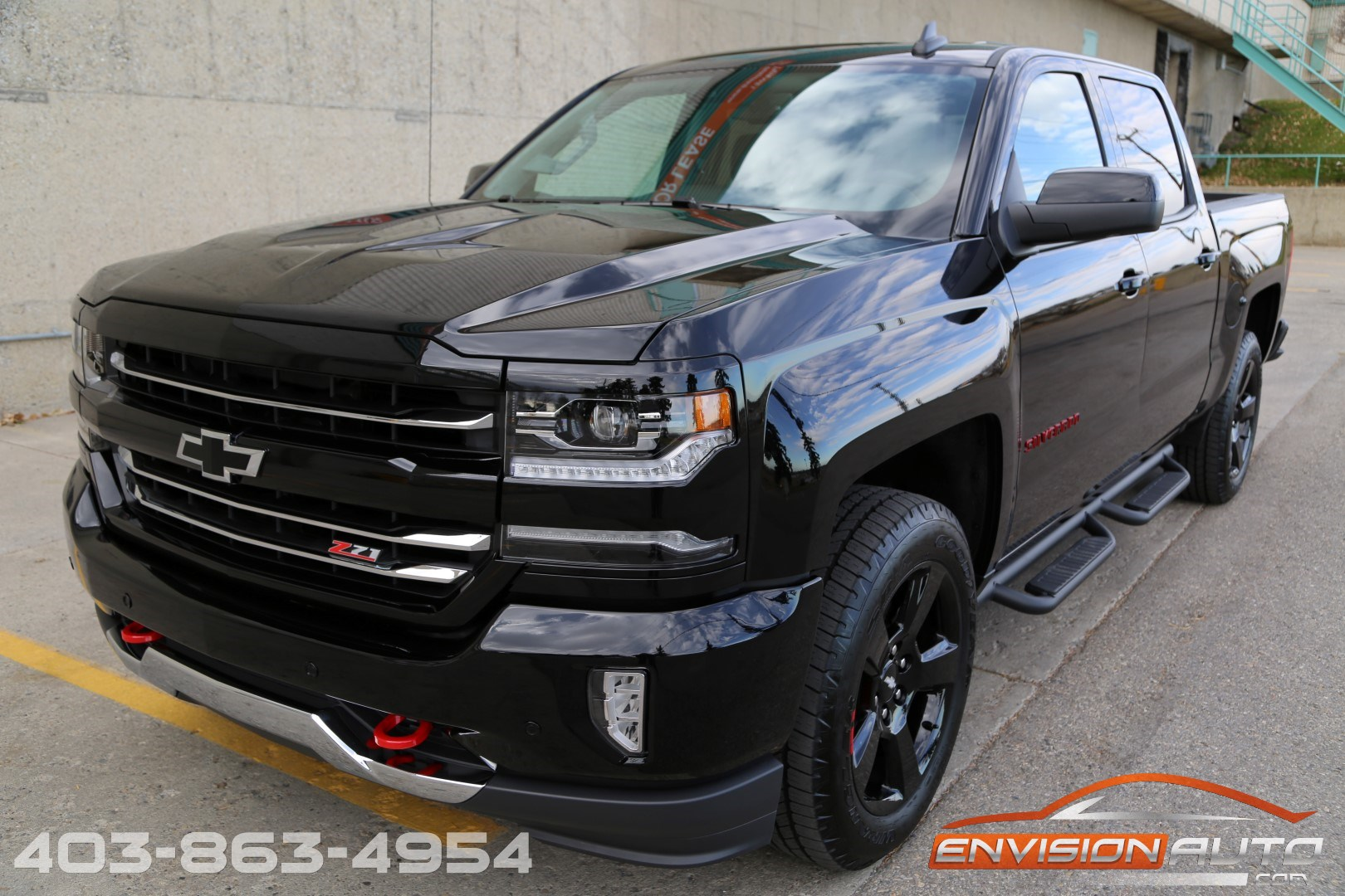 2017 chevrolet silverado 1500 ltz redline edition ltz plus 2lz z71 envision auto. Black Bedroom Furniture Sets. Home Design Ideas