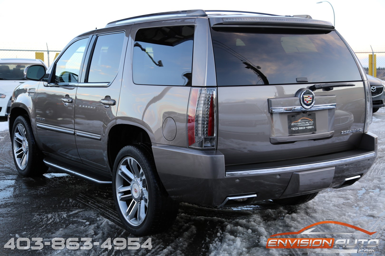 2013 cadillac escalade suv premium edition envision auto. Black Bedroom Furniture Sets. Home Design Ideas
