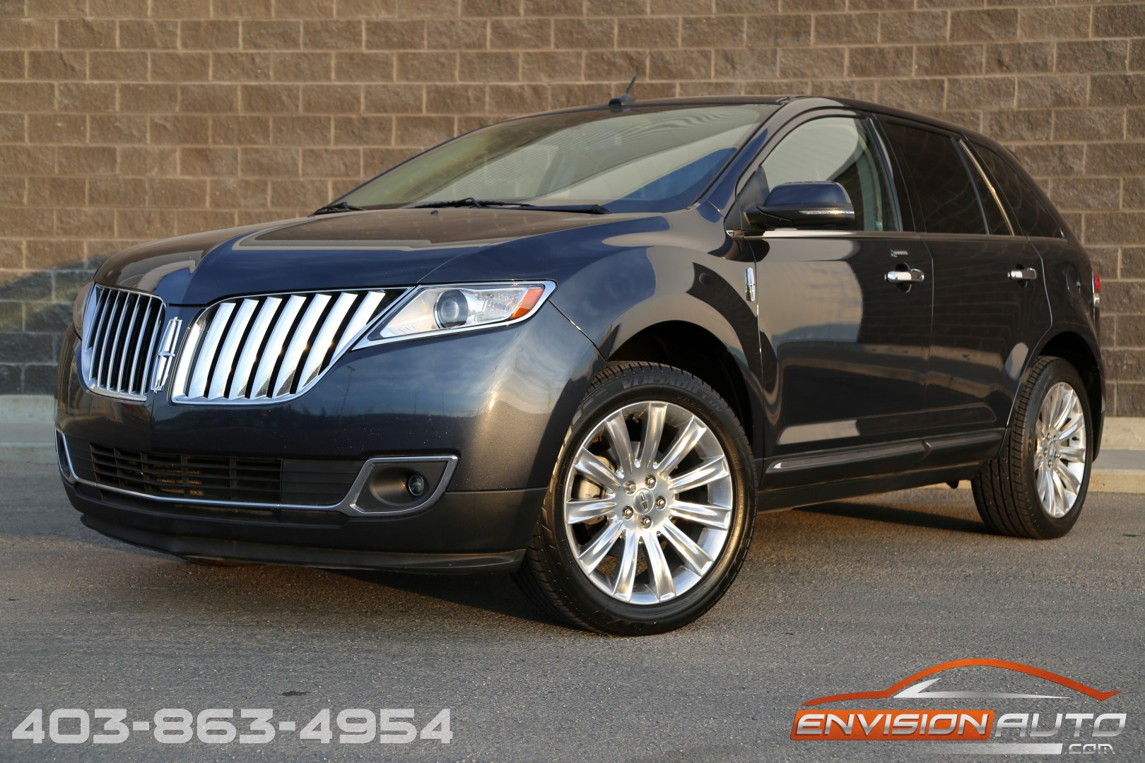 2013 lincoln mkx awd limited loaded low mileage envision auto calgary highline luxury sports. Black Bedroom Furniture Sets. Home Design Ideas