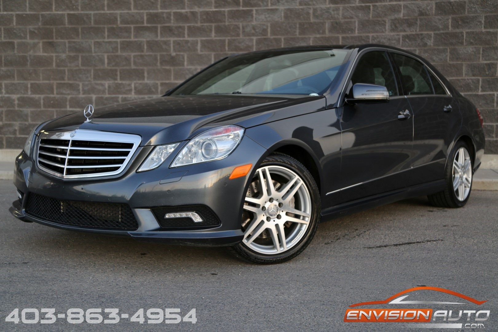2010 mercedes benz e550 4matic spotless history envision auto calgary highline luxury sports. Black Bedroom Furniture Sets. Home Design Ideas