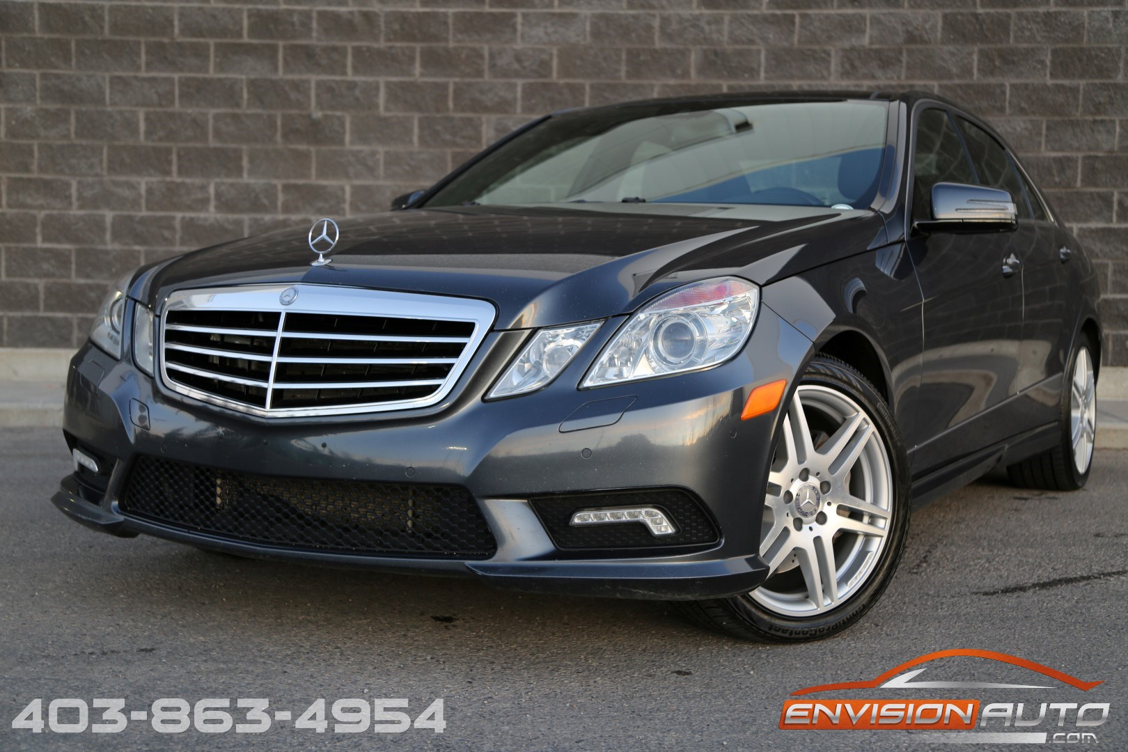 2010 mercedes benz e550 4matic spotless history envision for Mercedes benz history