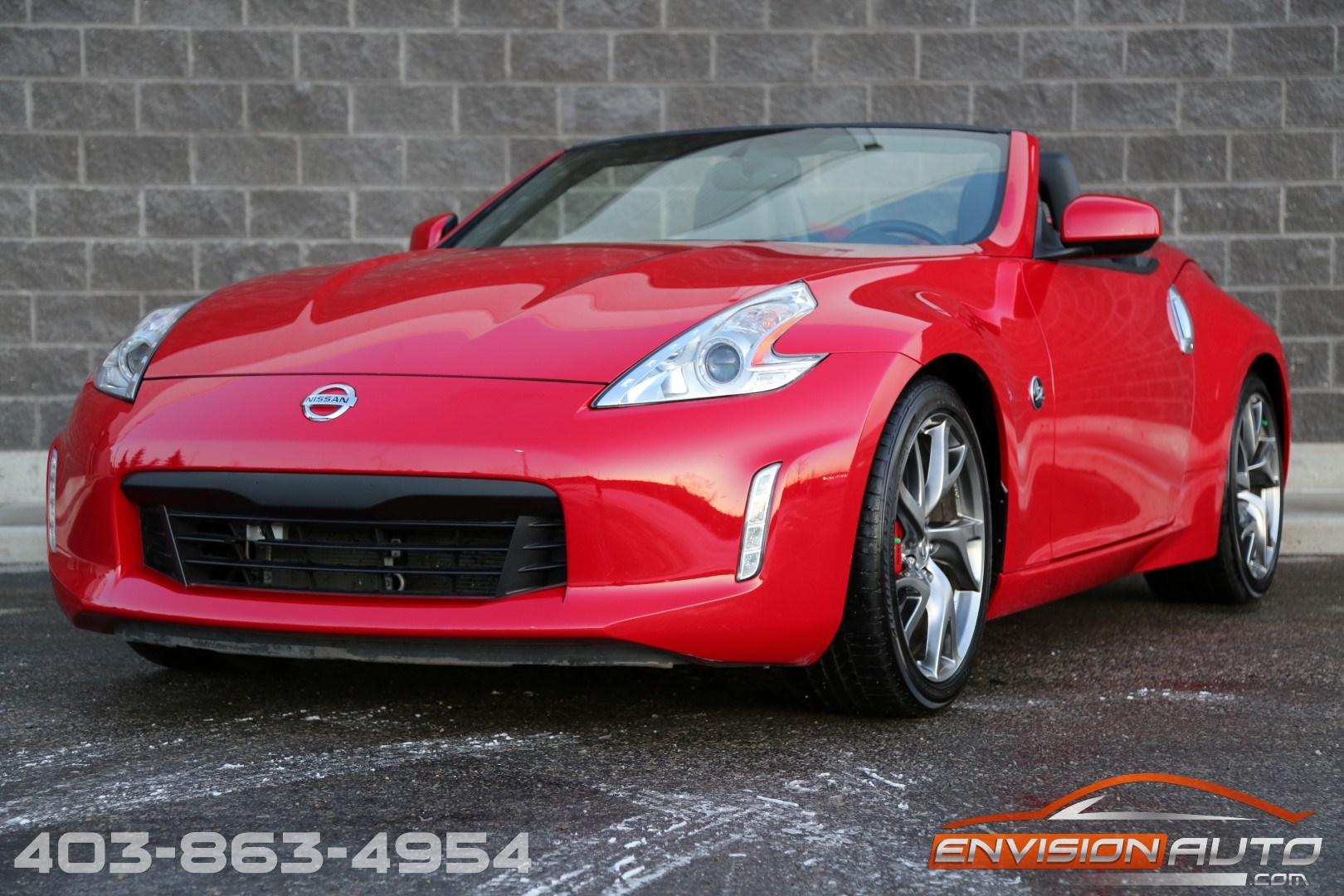 2017 nissan 370z roadster sport touring pkg only 10 400 kms envision auto calgary. Black Bedroom Furniture Sets. Home Design Ideas