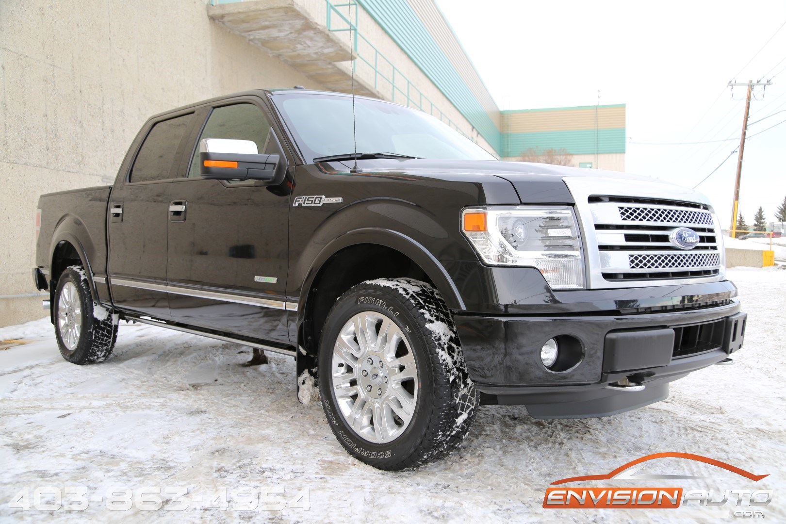 2014 ford f 150 crew platinum ecoboost power boards only 61k kms envision auto. Black Bedroom Furniture Sets. Home Design Ideas